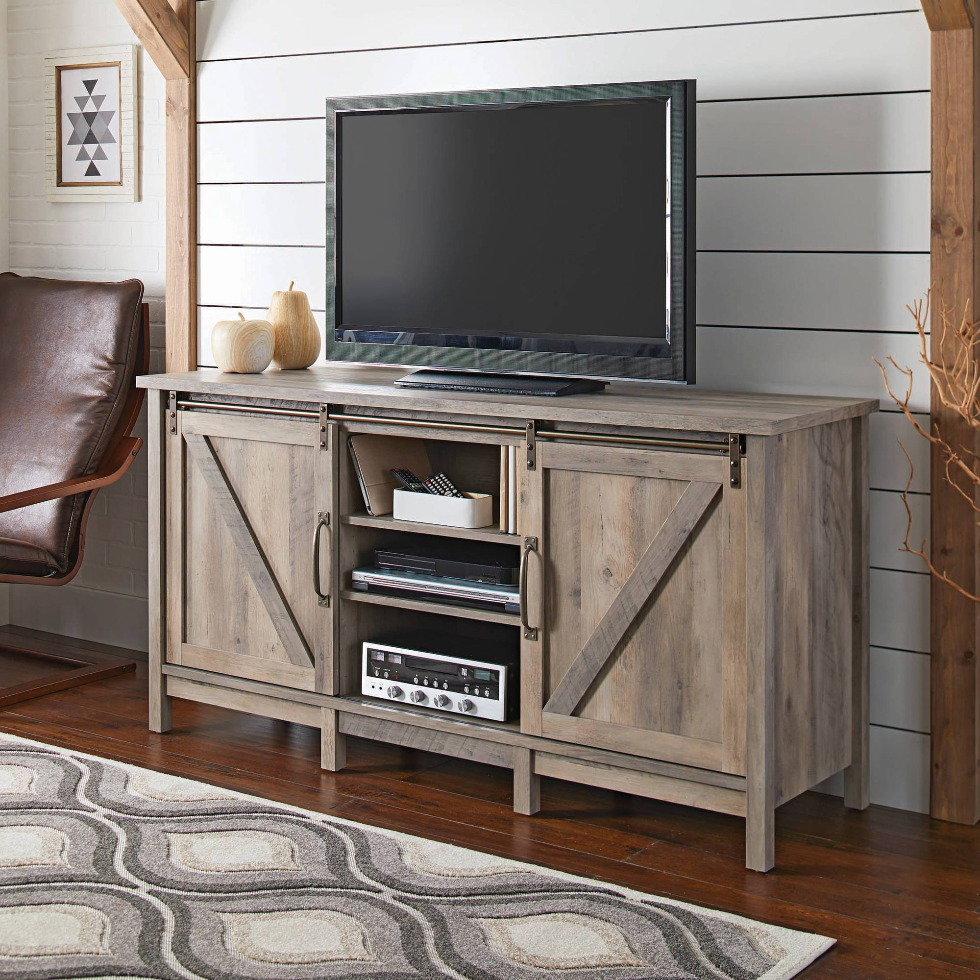 Tv Stands – Walmart With Rustic 60 Inch Tv Stands (View 12 of 15)