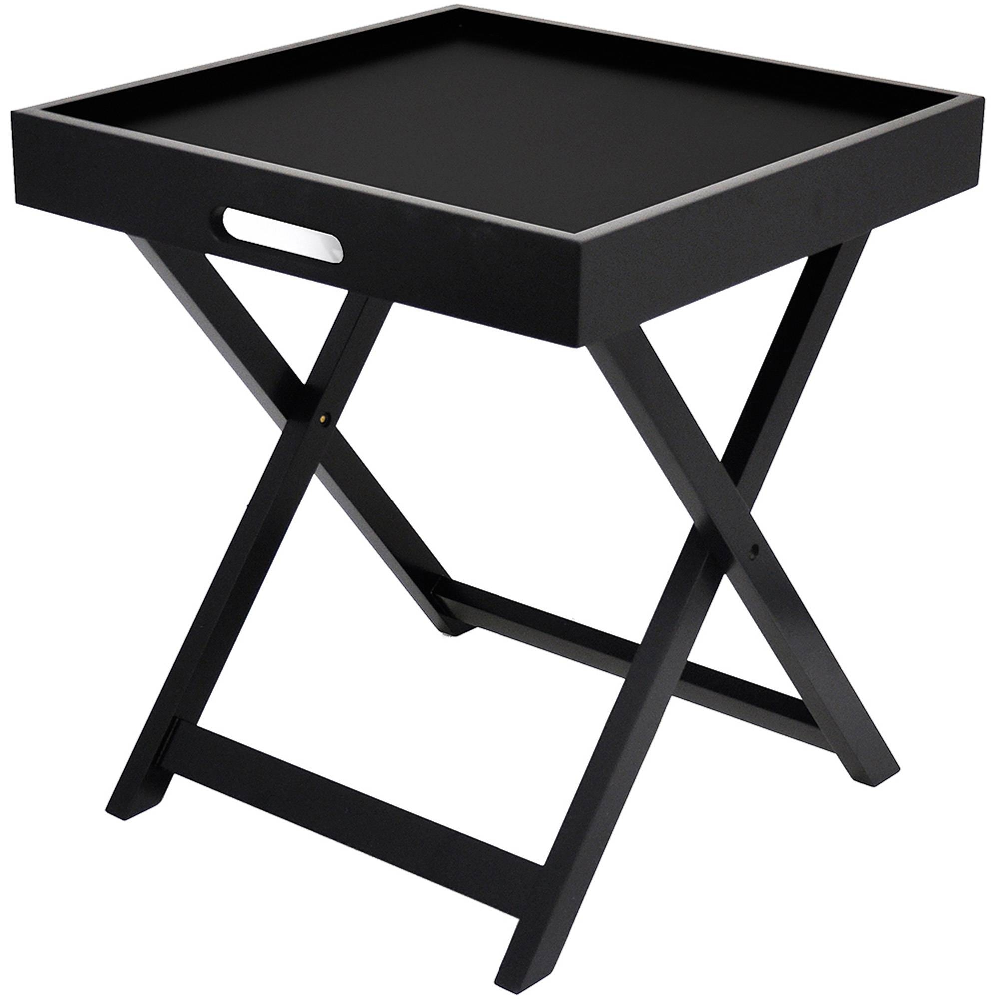 Tv Tray Tables - Walmart in Folding Tv Trays With Stand (Image 9 of 15)