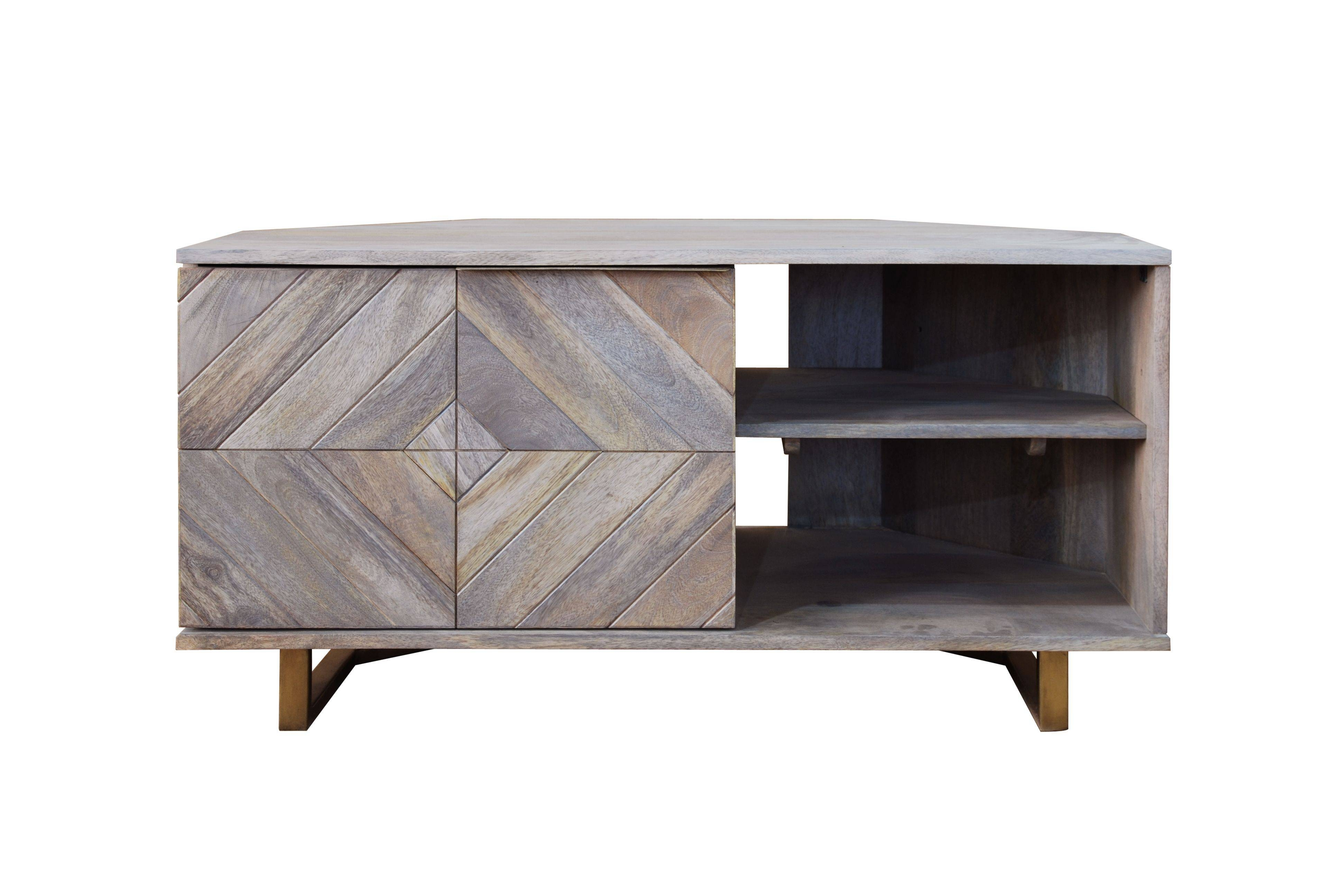 Tv Units - Our Pick Of The Best | Ideal Home intended for Grey Corner Tv Stands (Image 14 of 15)