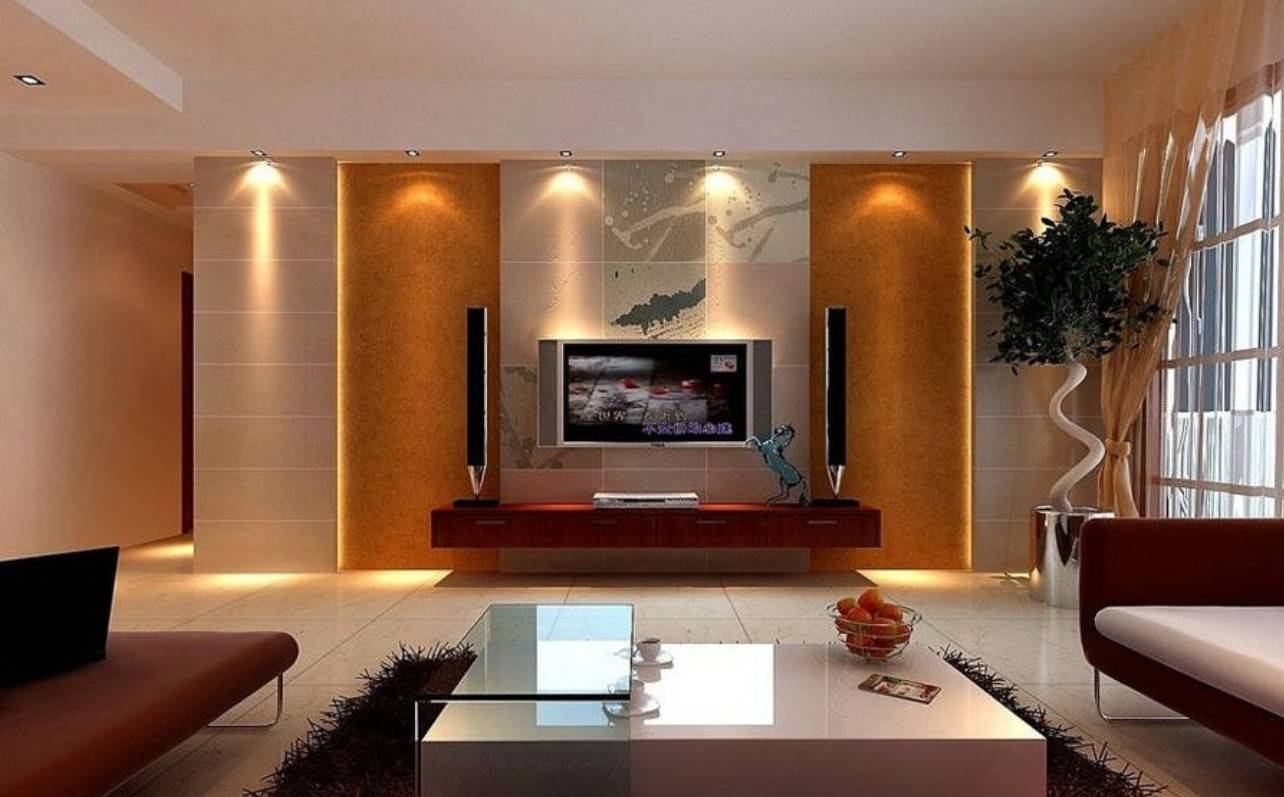 Tv Wall Unit Designs For Living Room In Home Interior Design intended for Living Room Tv Cabinets (Image 14 of 15)