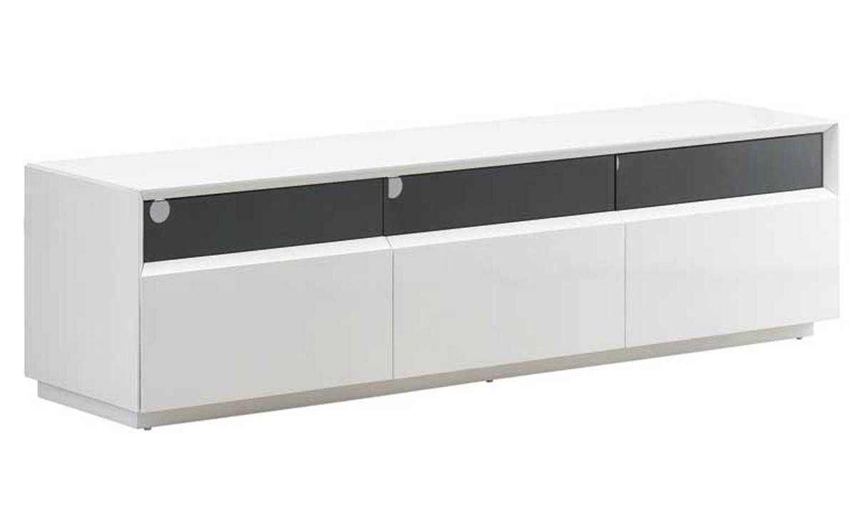 Tv023 Modern Tv Stand In White High Gloss | Free Shipping | Get inside White High Gloss Tv Stands (Image 13 of 15)