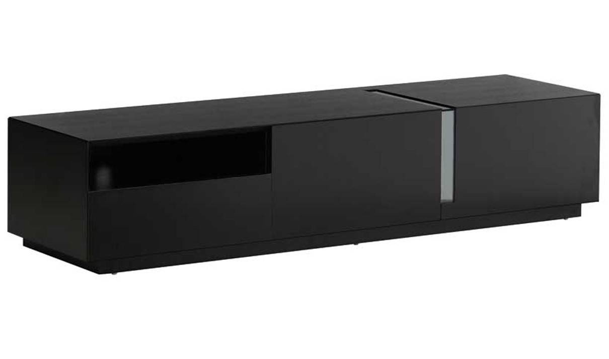 Tv027 Modern Tv Stand In Black High Gloss | Free Shipping | Get for Modern Tv Stands (Image 14 of 15)