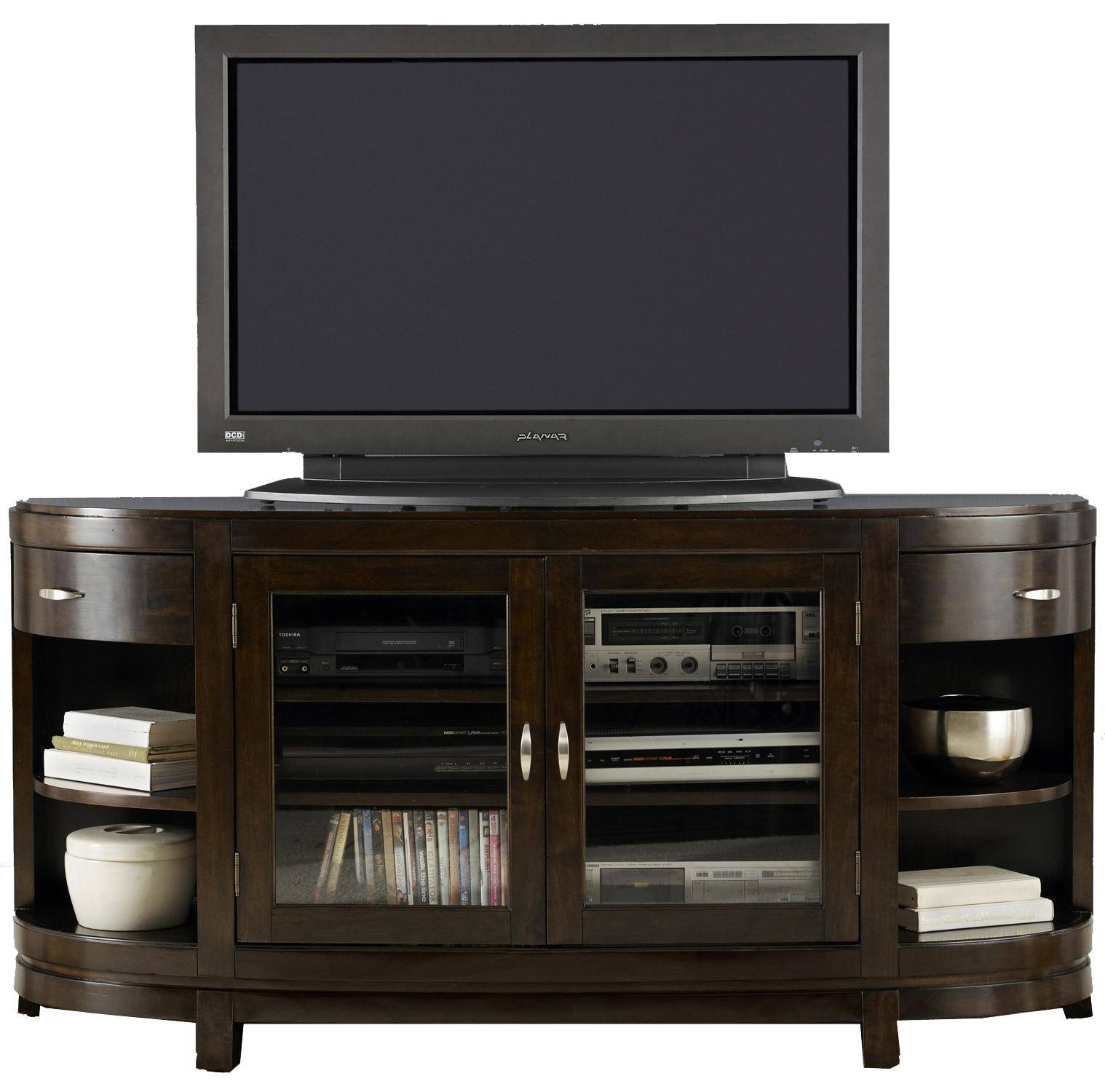 Two Door Entertainment Tv Stand With Drawers And Shelves Pertaining To Tv Stands With Drawers And Shelves (View 3 of 15)