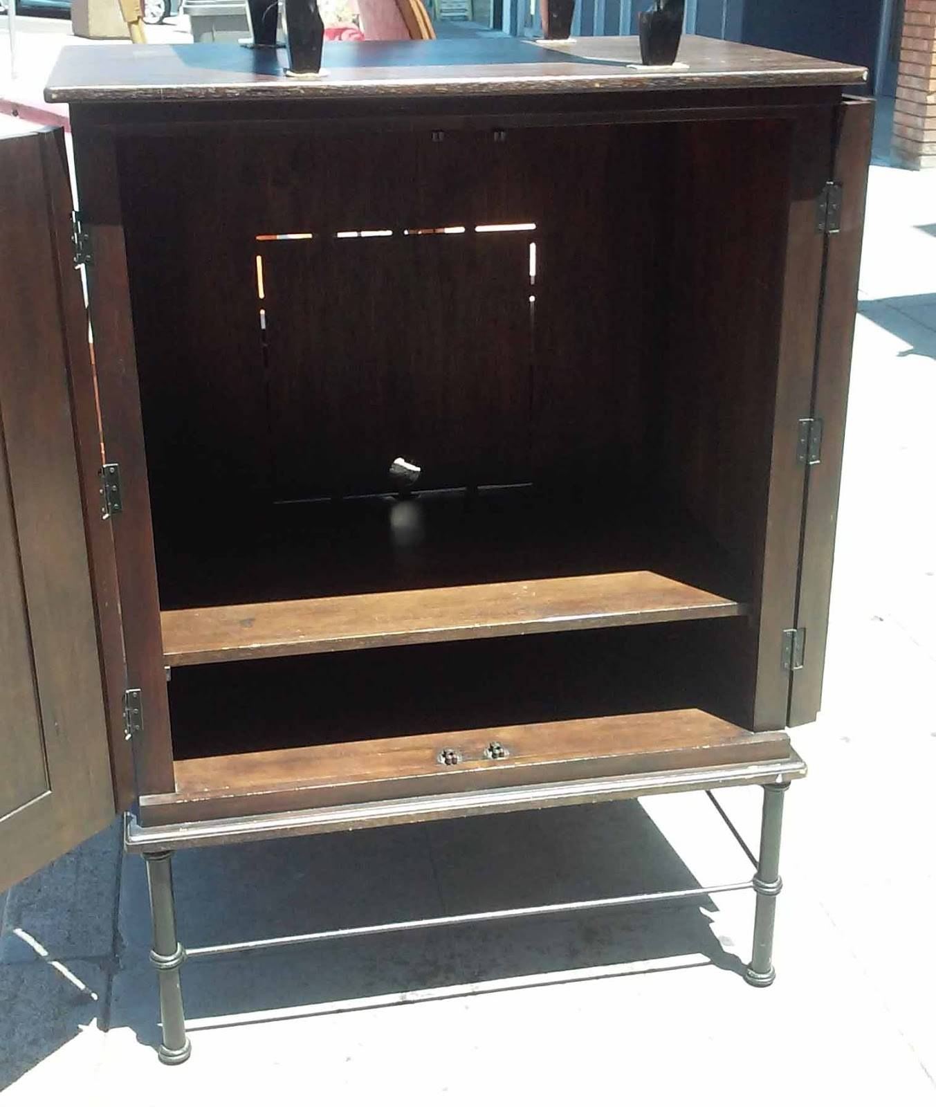 Uhuru Furniture & Collectibles: Sold Modern Asian Espresso Tv Intended For Asian Tv Cabinets (View 14 of 15)