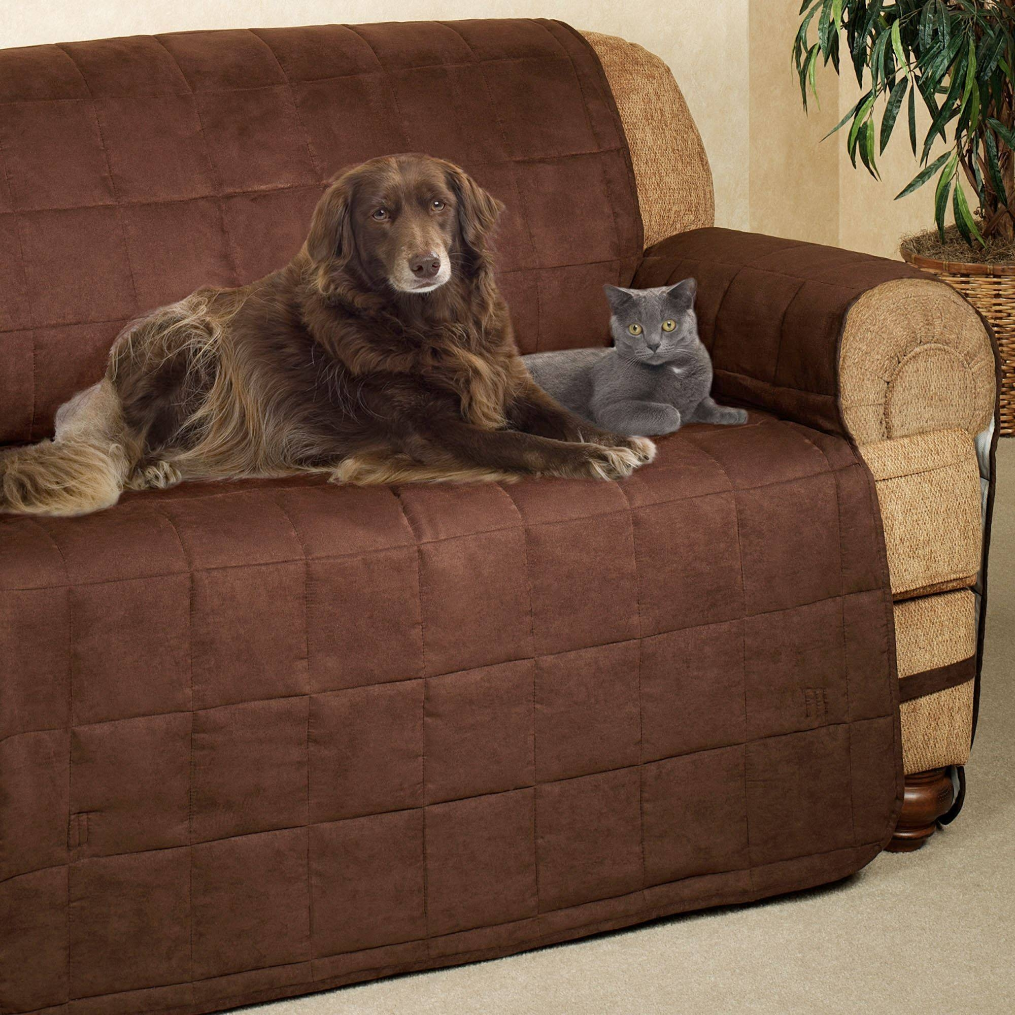 Ultimate Pet Furniture Protectors With Straps for Pet Proof Sofa Covers (Image 12 of 15)
