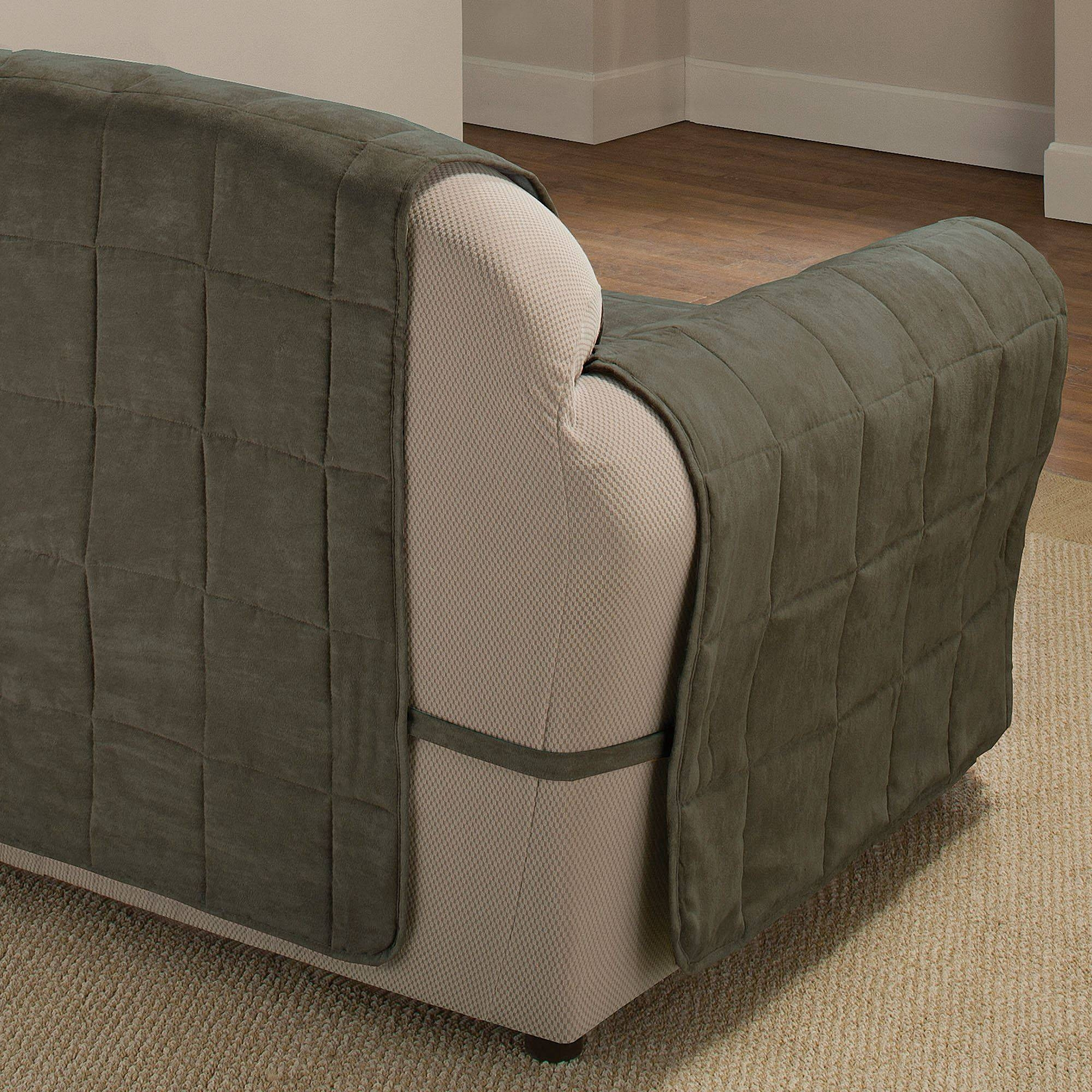 Ultimate Pet Furniture Protectors With Straps inside Pet Proof Sofa Covers (Image 13 of 15)