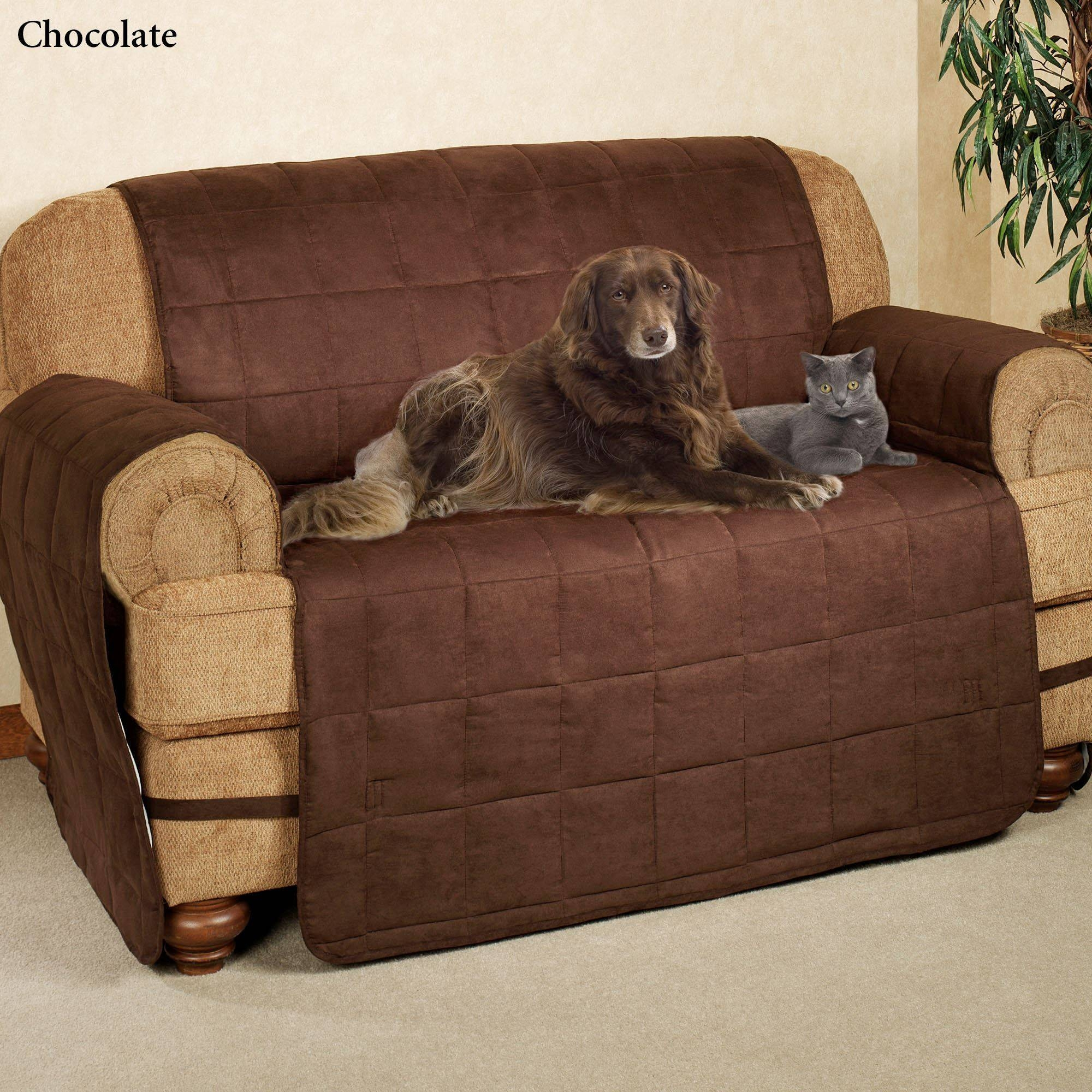 Ultimate Pet Furniture Protectors With Straps with regard to Suede Slipcovers for Sofas (Image 14 of 15)