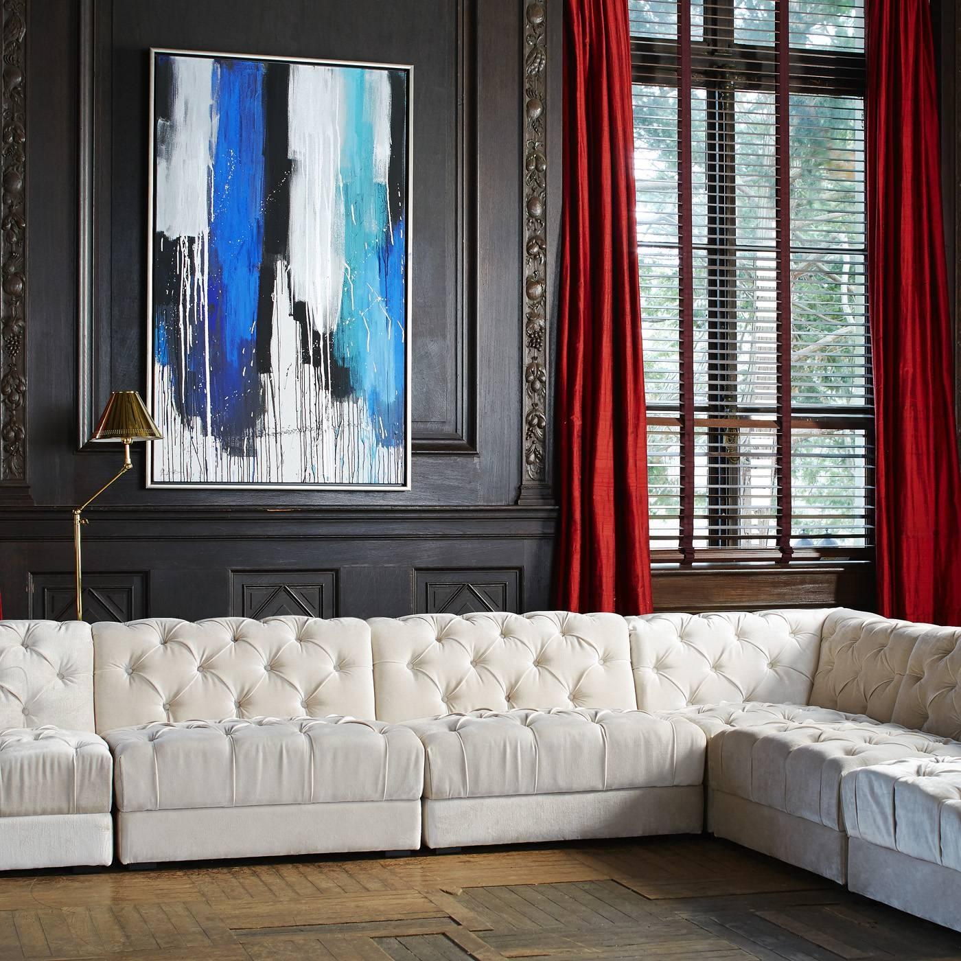 Ultra Slipper Sofa | Modern Furniture | Jonathan Adler within Slipper Sofas (Image 14 of 15)