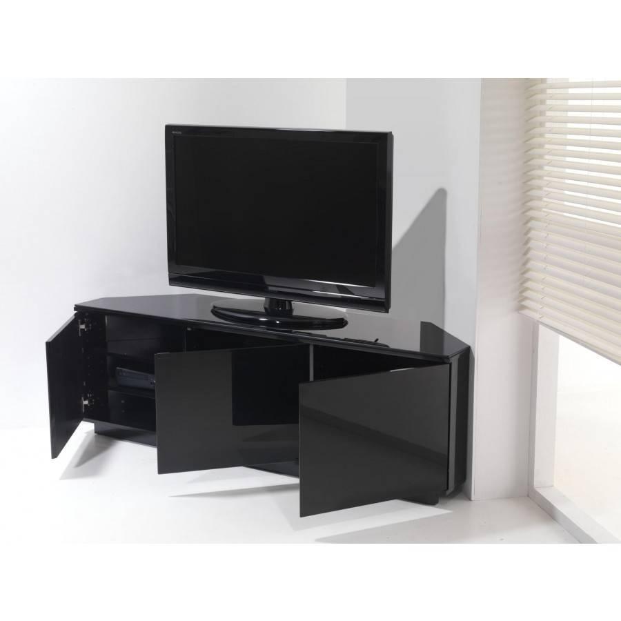 Unique Black Gloss Corner Tv Stand 57 In Home Decoration Ideas with regard to Unique Corner Tv Stands (Image 11 of 15)