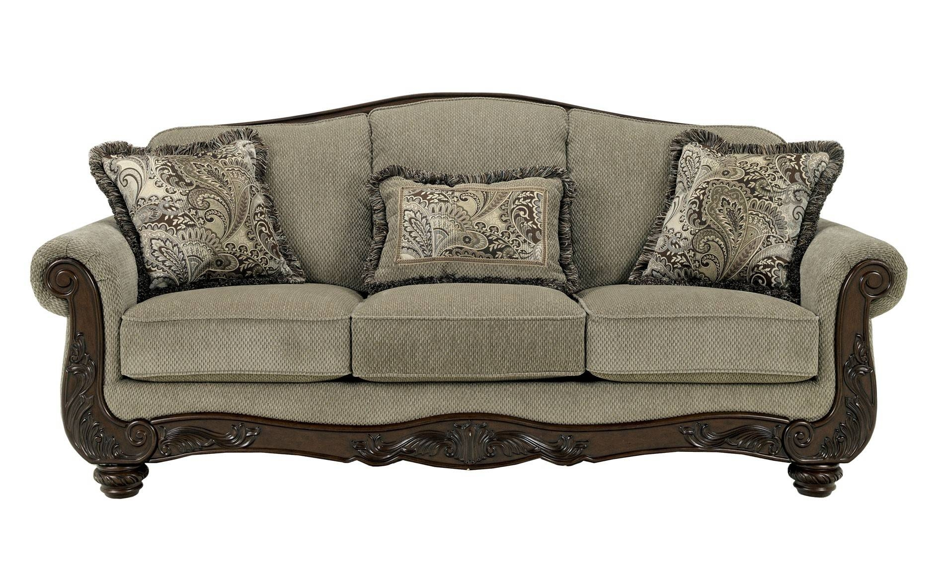 Unique Love Seat Sofas With Ashley Furniture Bradington Truffle within Bradington Truffle Sofas (Image 15 of 15)