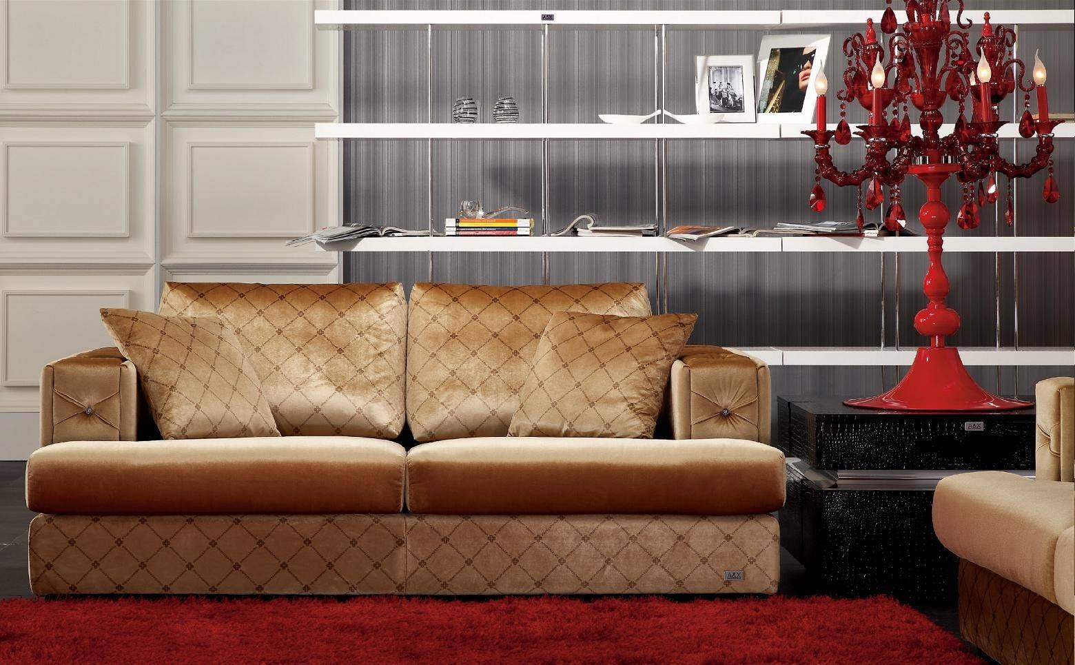 Unique Velvet Sofa Set 39 On Modern Sofa Inspiration With Velvet inside Brown Velvet Sofas (Image 14 of 15)