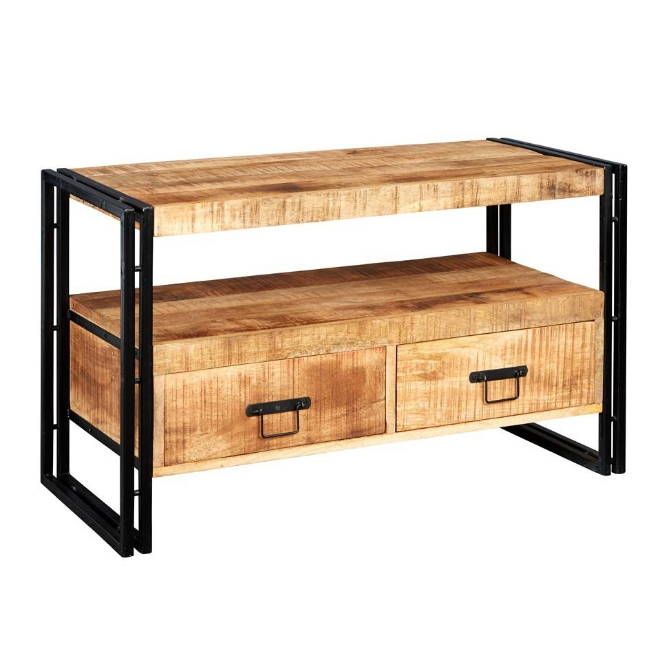Upcycled Industrial Mintis Tv Cabinet in Industrial Tv Cabinets (Image 14 of 15)