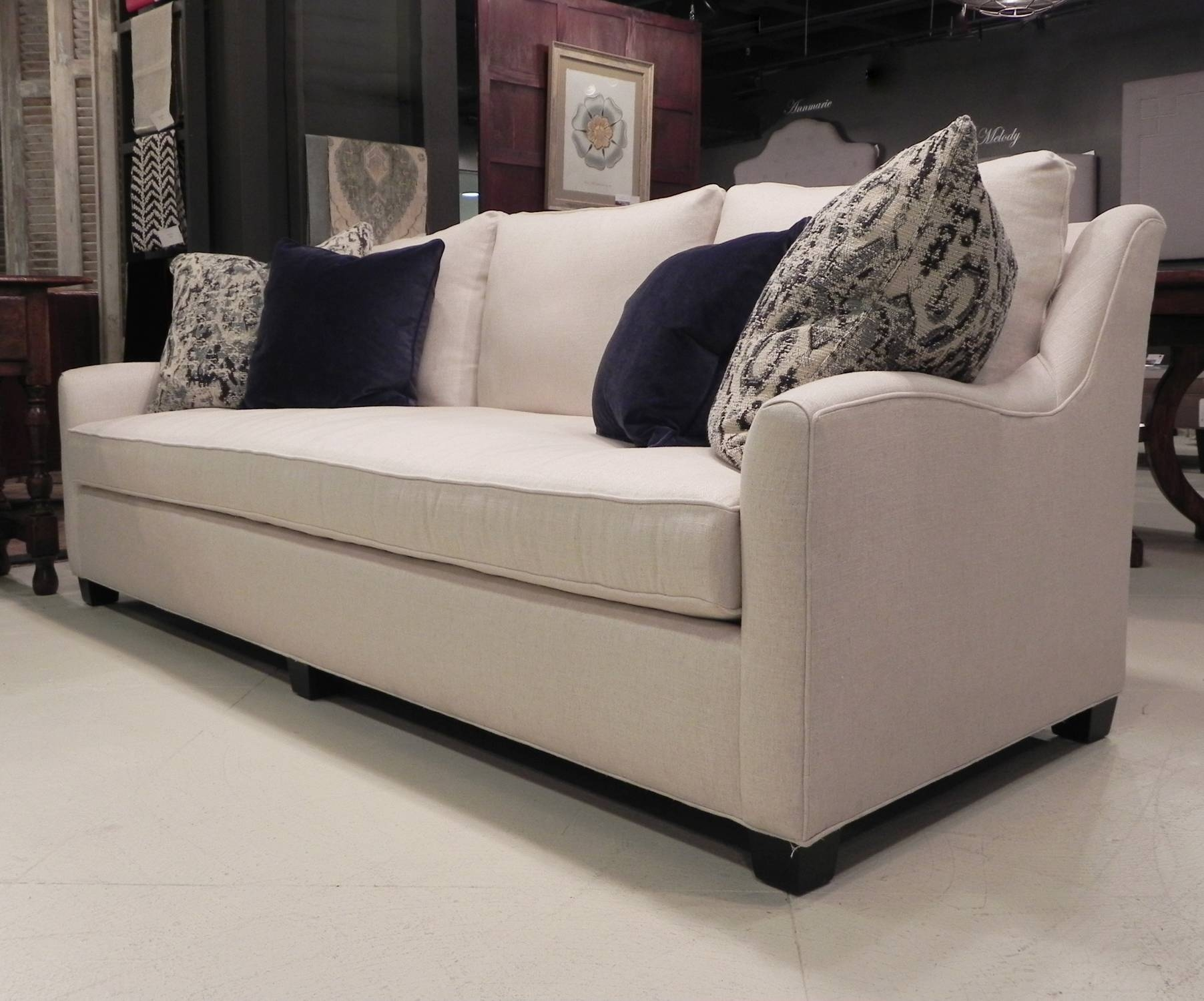 Upholstered Sofas & Chairs - Englishman's Fine Furnishings with regard to Bench Cushion Sofas (Image 14 of 15)