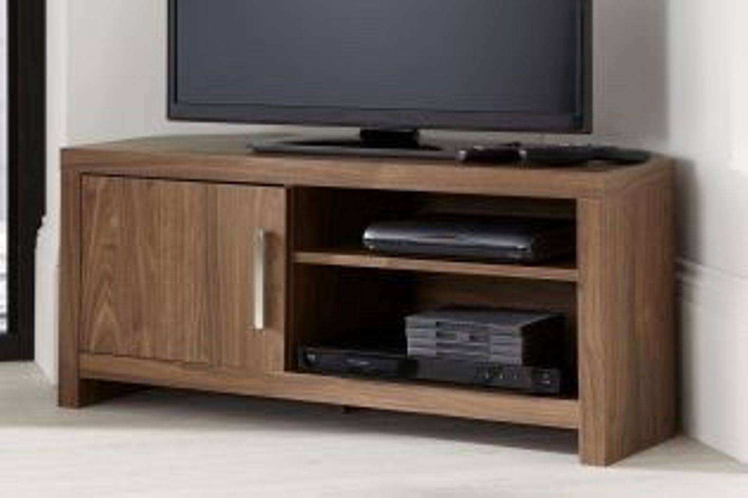 Used Next Mode Walnut Tv Cabinet And Coffee Table In G41 Glasgow within Walnut Tv Cabinets With Doors (Image 14 of 15)