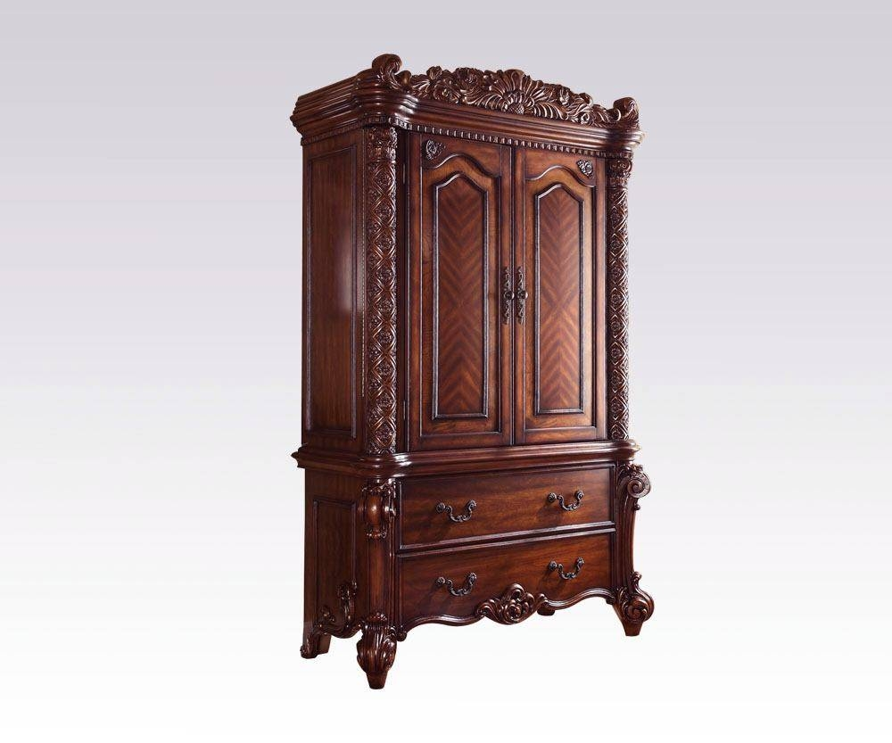 Vendome Traditional Tv Armoire In Cherry 22007 with Cherry Tv Armoire (Image 15 of 15)