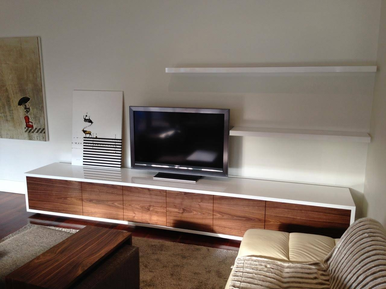 Venus Tv Unit For Floating Tv Cabinet (View 14 of 15)