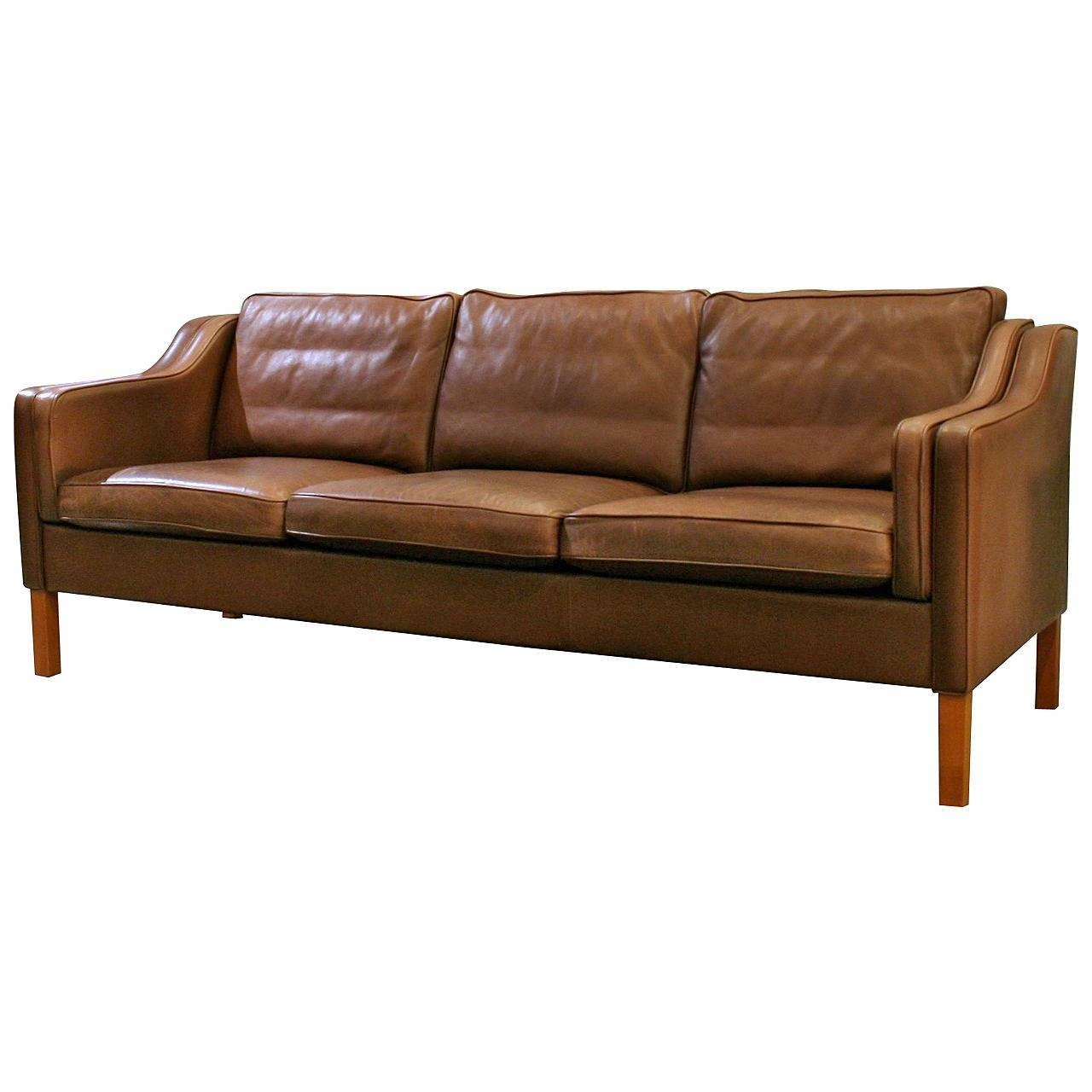 Vintage Danish Leather Sofa At 1Stdibs inside Danish Leather Sofas (Image 15 of 15)