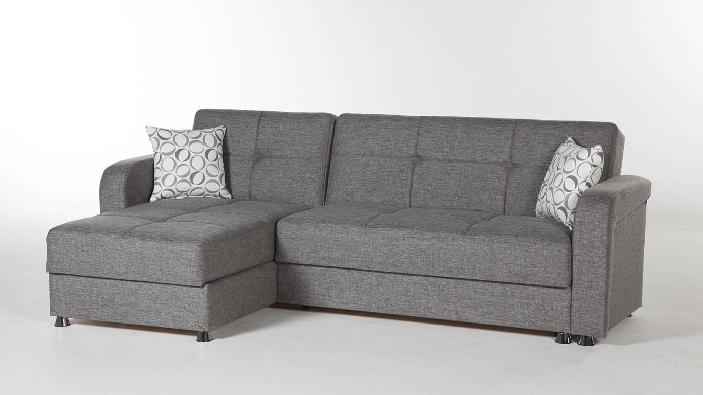 Vision Sectional Sleeper Sofa in Modern Small Sectional Sofas (Image 15 of 15)
