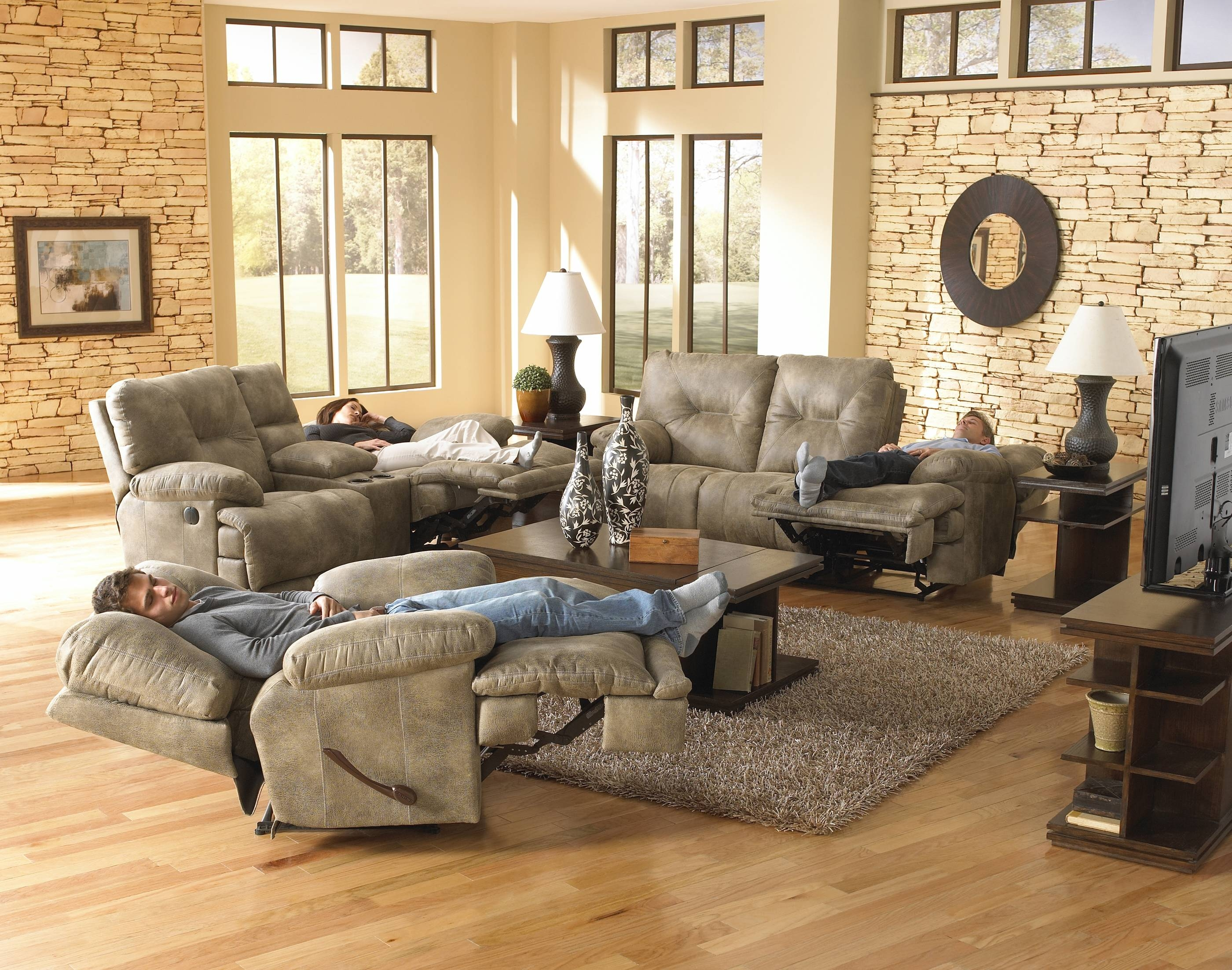 Voyager Reclining Sofa & Loveseatcatnapper pertaining to Catnapper Sofas (Image 15 of 15)