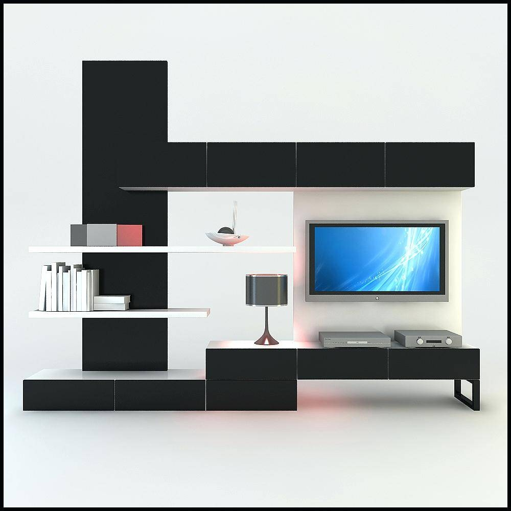 Wall Ideas : Black Wall Unit Desk Black Wall Unit Microwave Ikea in Black Gloss Tv Wall Unit (Image 14 of 15)