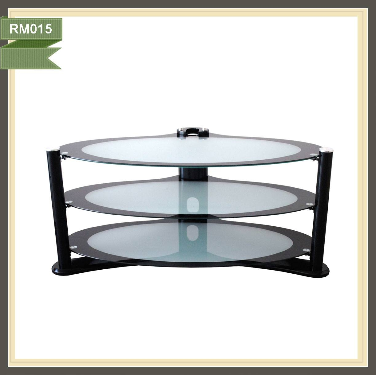 Wall Mounted Tv Showcase, Wall Mounted Tv Showcase Suppliers And within Oval Glass Tv Stands (Image 14 of 15)