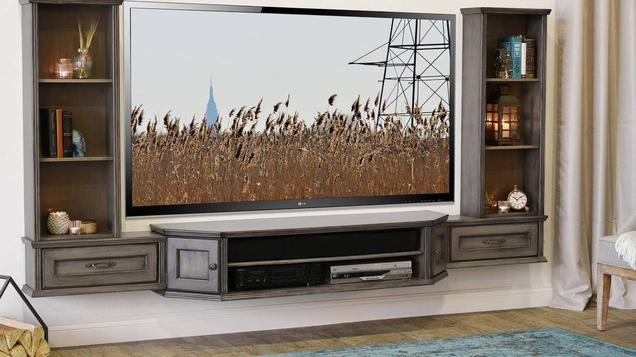 Wall Units. Amazing Wall Mount Entertainment Centers: Mounted inside Entertainment Center Tv Stands (Image 9 of 15)