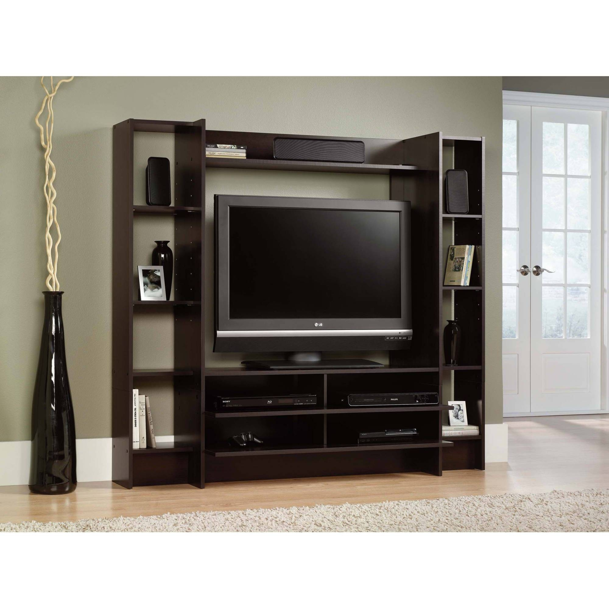 Wall Units: Amazing Walmart Entertainment Center Tv Stands Cheap throughout Entertainment Center Tv Stands (Image 14 of 15)