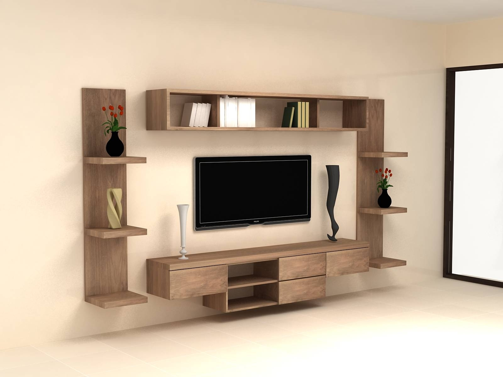 Wall Units. Amusing Tv Cabinet On Wall: Interesting-Tv-Cabinet-On inside Tv Cabinets And Wall Units (Image 8 of 15)