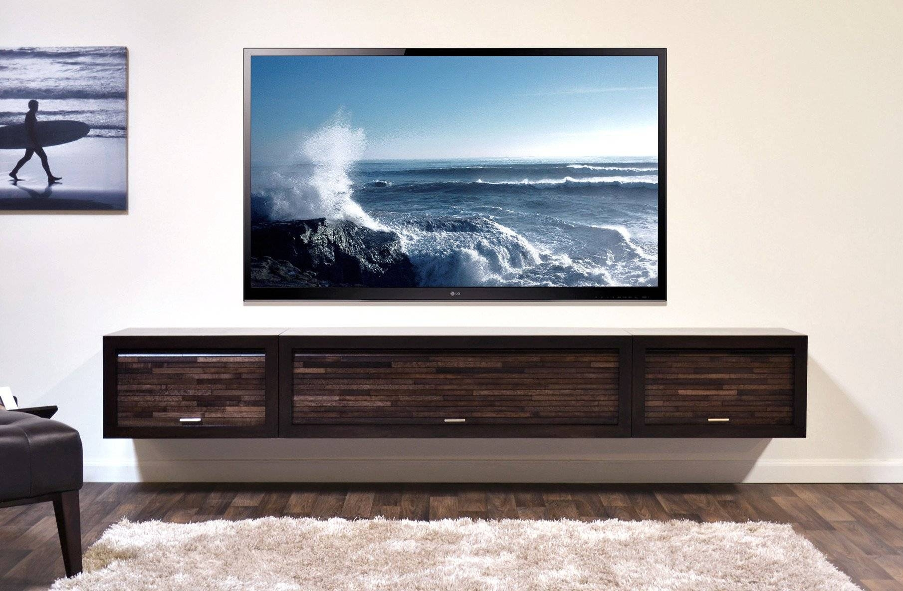 15 Best White Wall Mounted Tv Stands