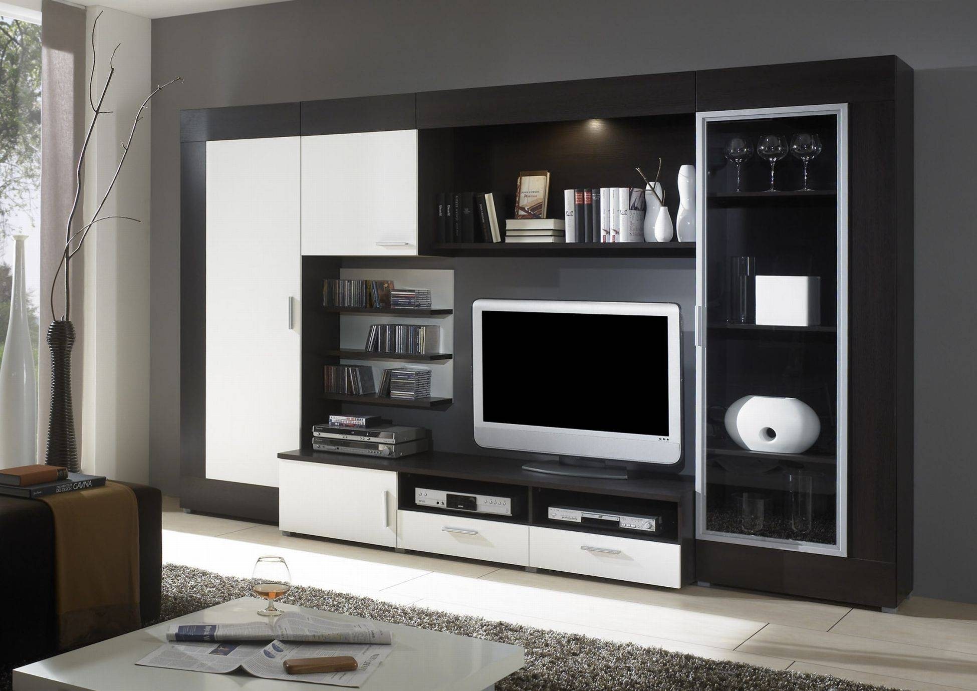 Wall Units. Awesome Entertainment Wall Units Modern: Entertainment in Tv Entertainment Wall Units (Image 10 of 15)