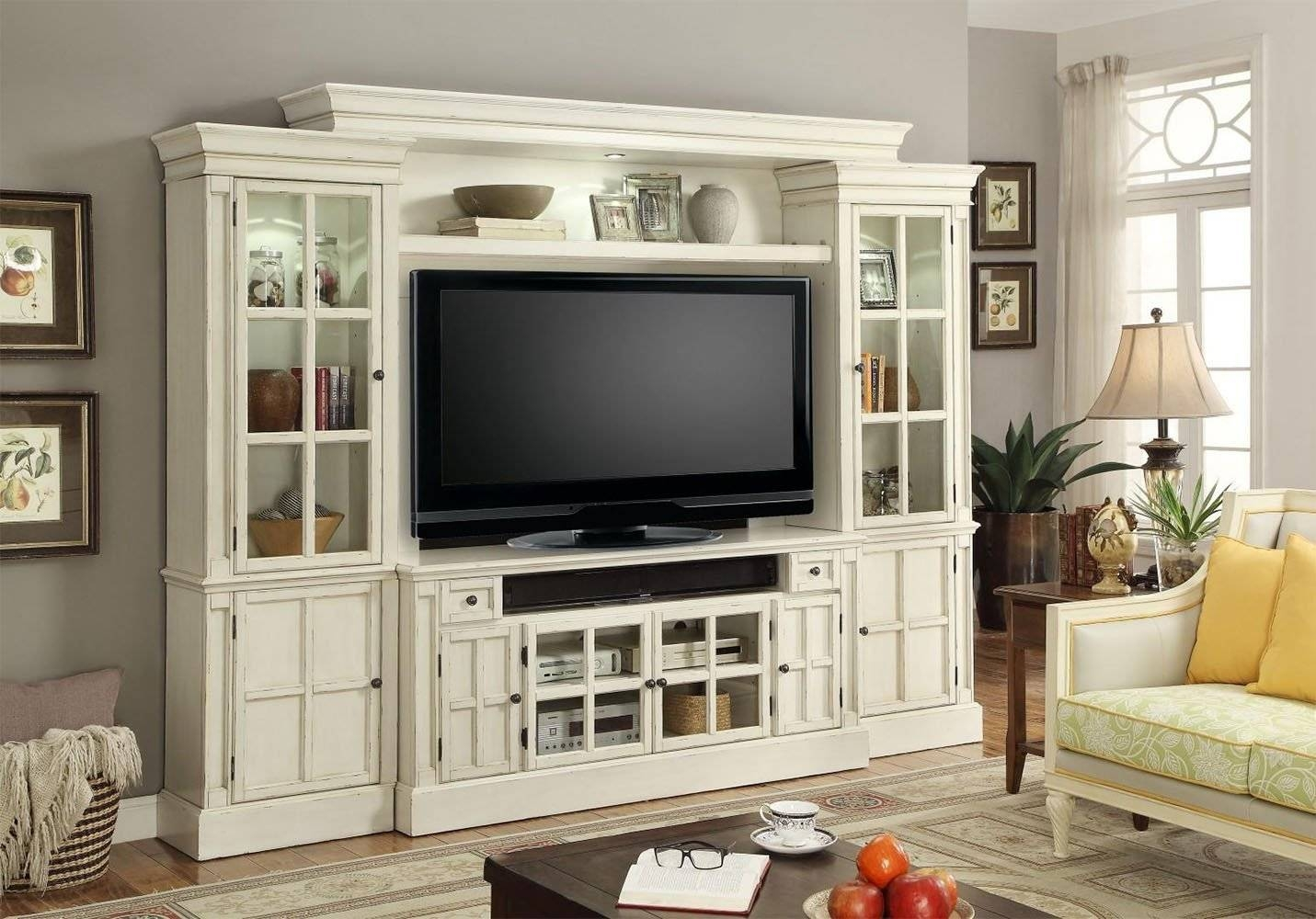 Wall Units: Awesome Tv Wall Entertainment Unit Sauder regarding Tv Entertainment Wall Units (Image 15 of 15)