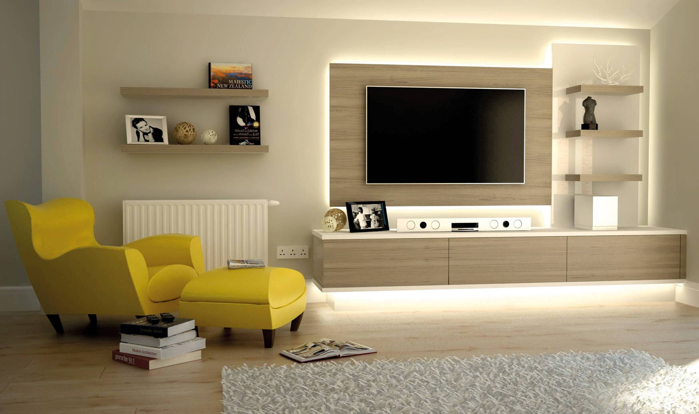 Wall Units. Interesting Wall Tv Units For Living Room: Marvelous pertaining to On The Wall Tv Units (Image 15 of 15)