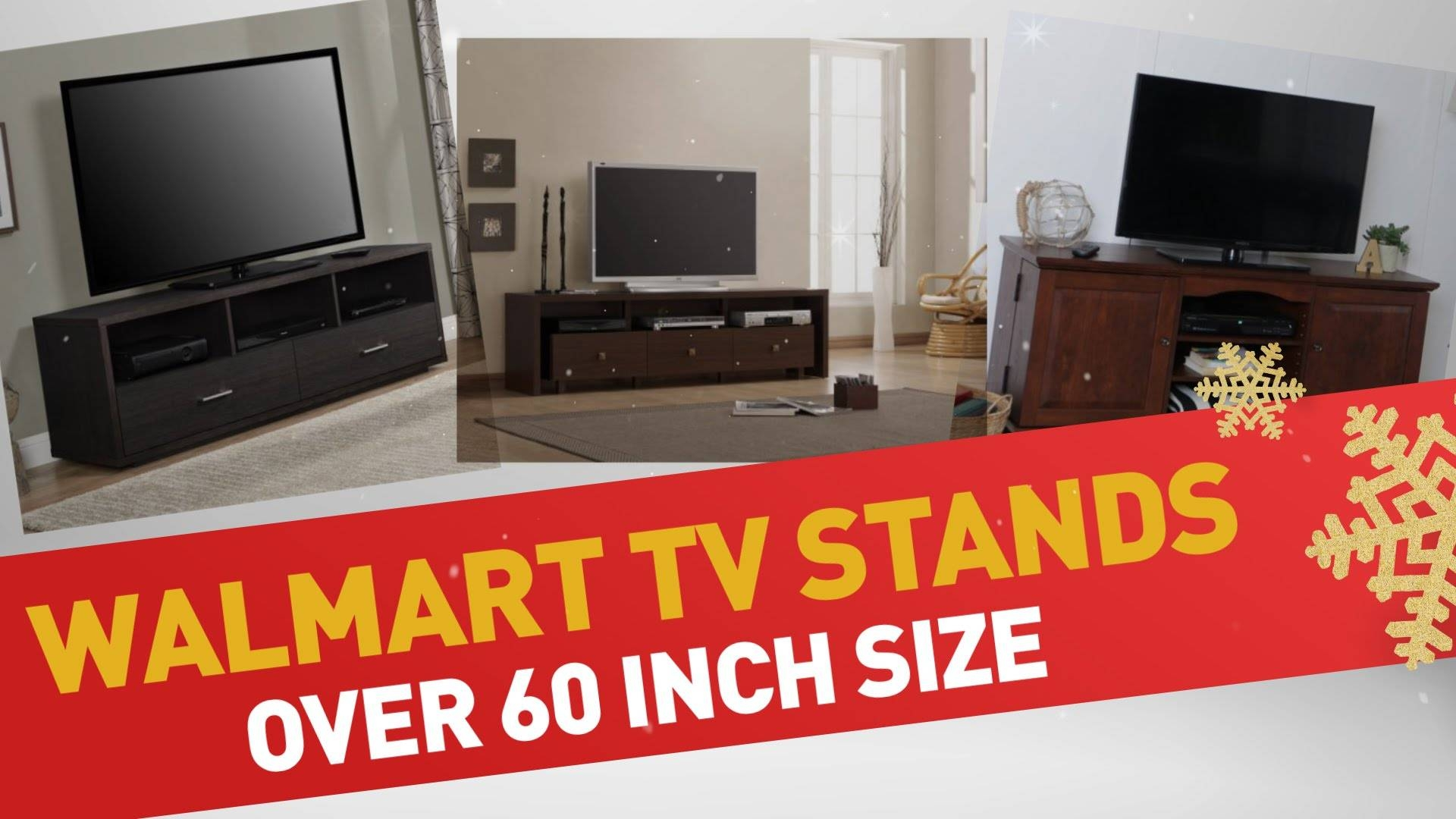 Walmart Tv Stands Over 60 Inch Size Best Sellers - Youtube with Cordoba Tv Stands (Image 15 of 15)