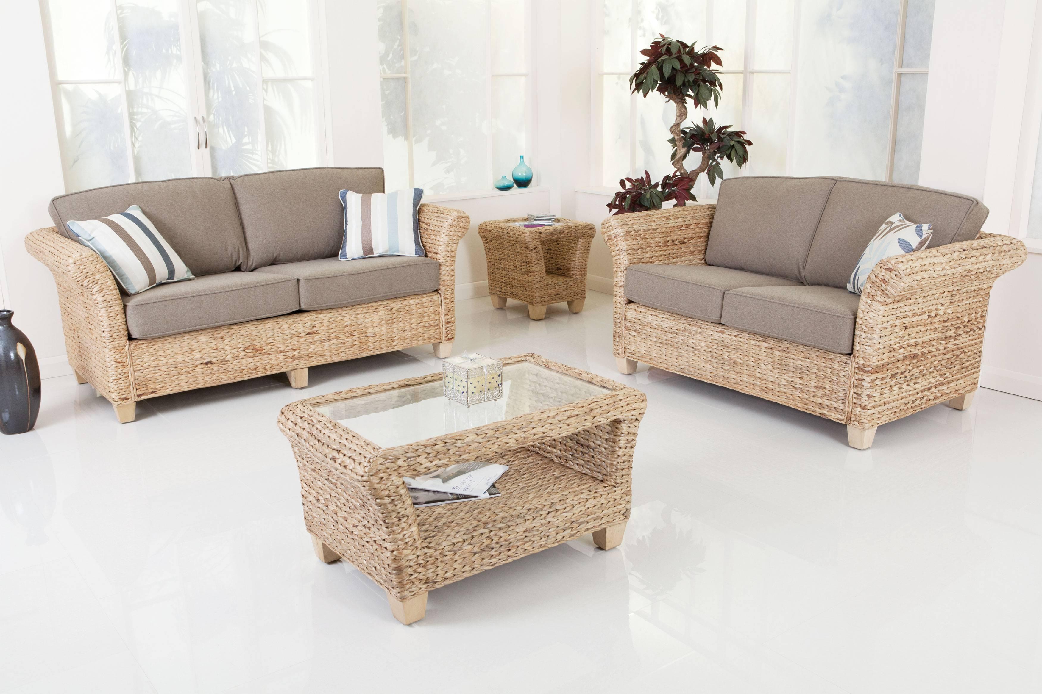 2017 Popular Bamboo Sofas