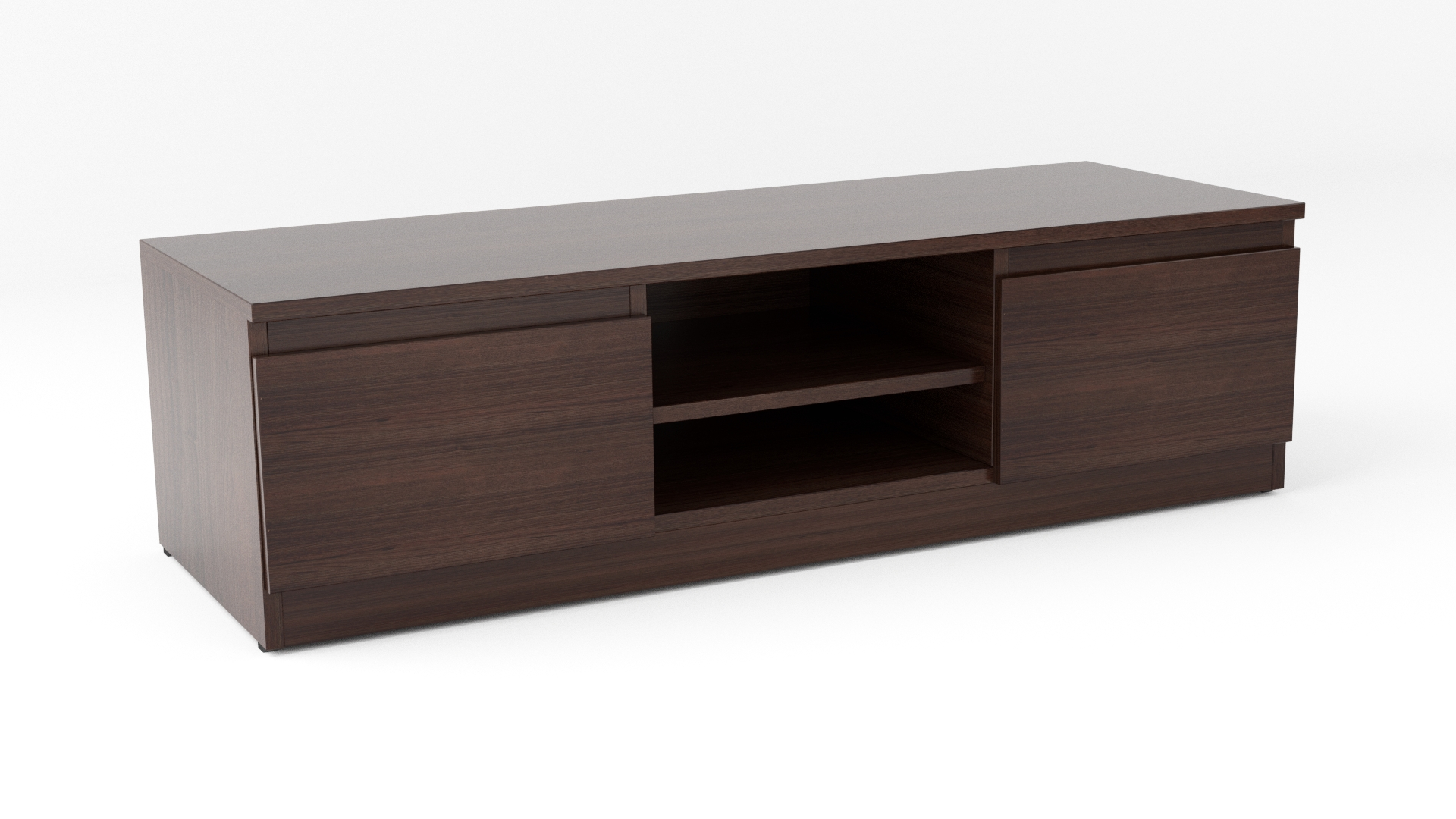 Wenge Matt Modern Tv Cabinet - Code 35 throughout Wenge Tv Cabinets (Image 14 of 15)
