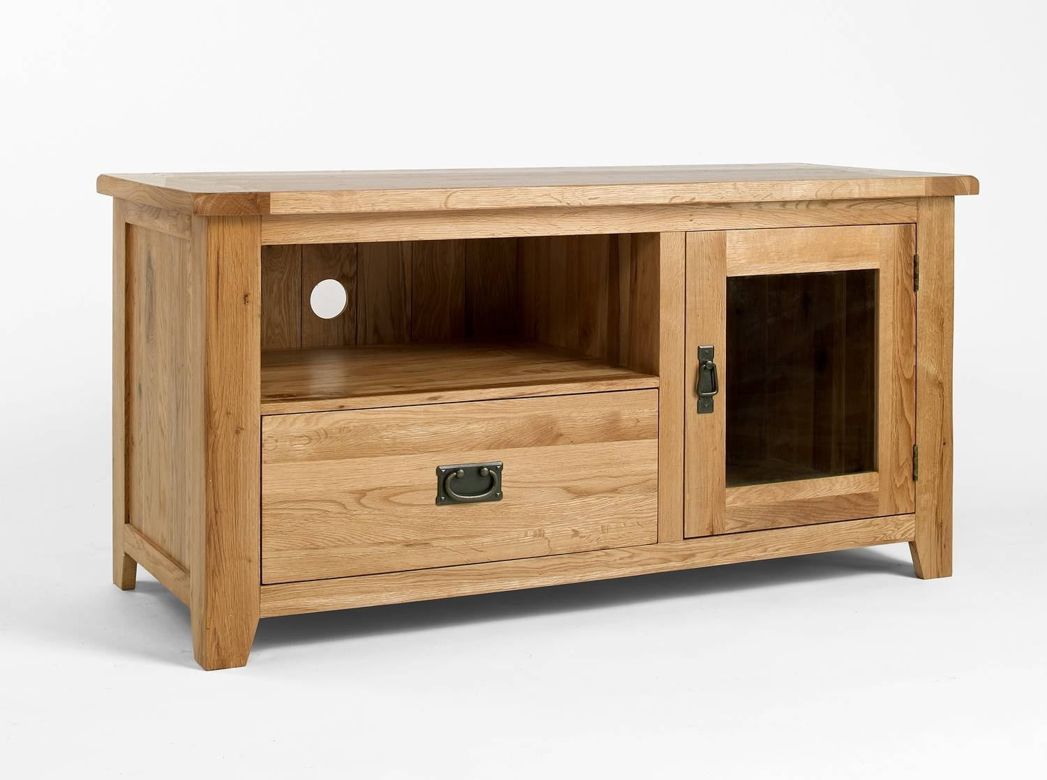 15 Inspirations Of Oak Tv Cabinets With Doors