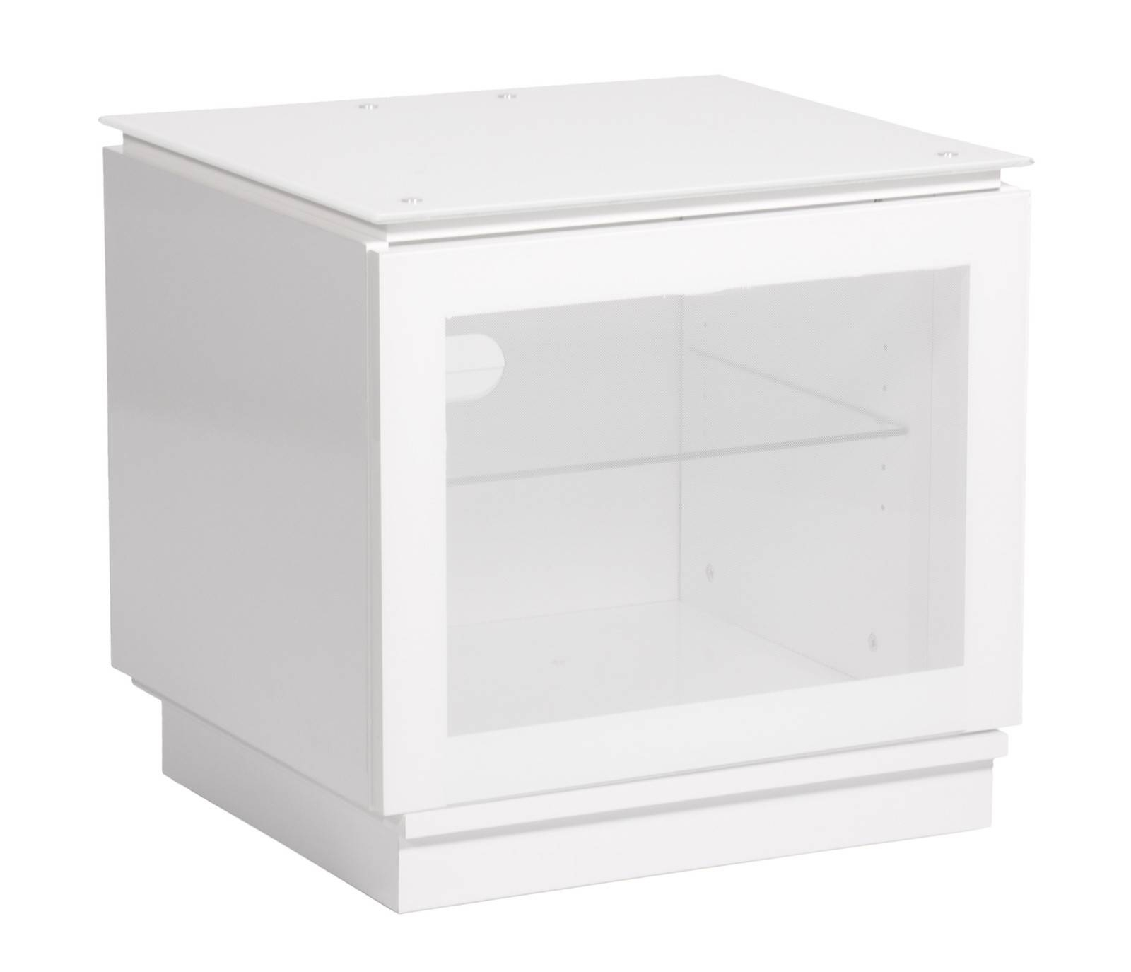 "White Gloss Tv Cabinet Up To 32"" Tv 