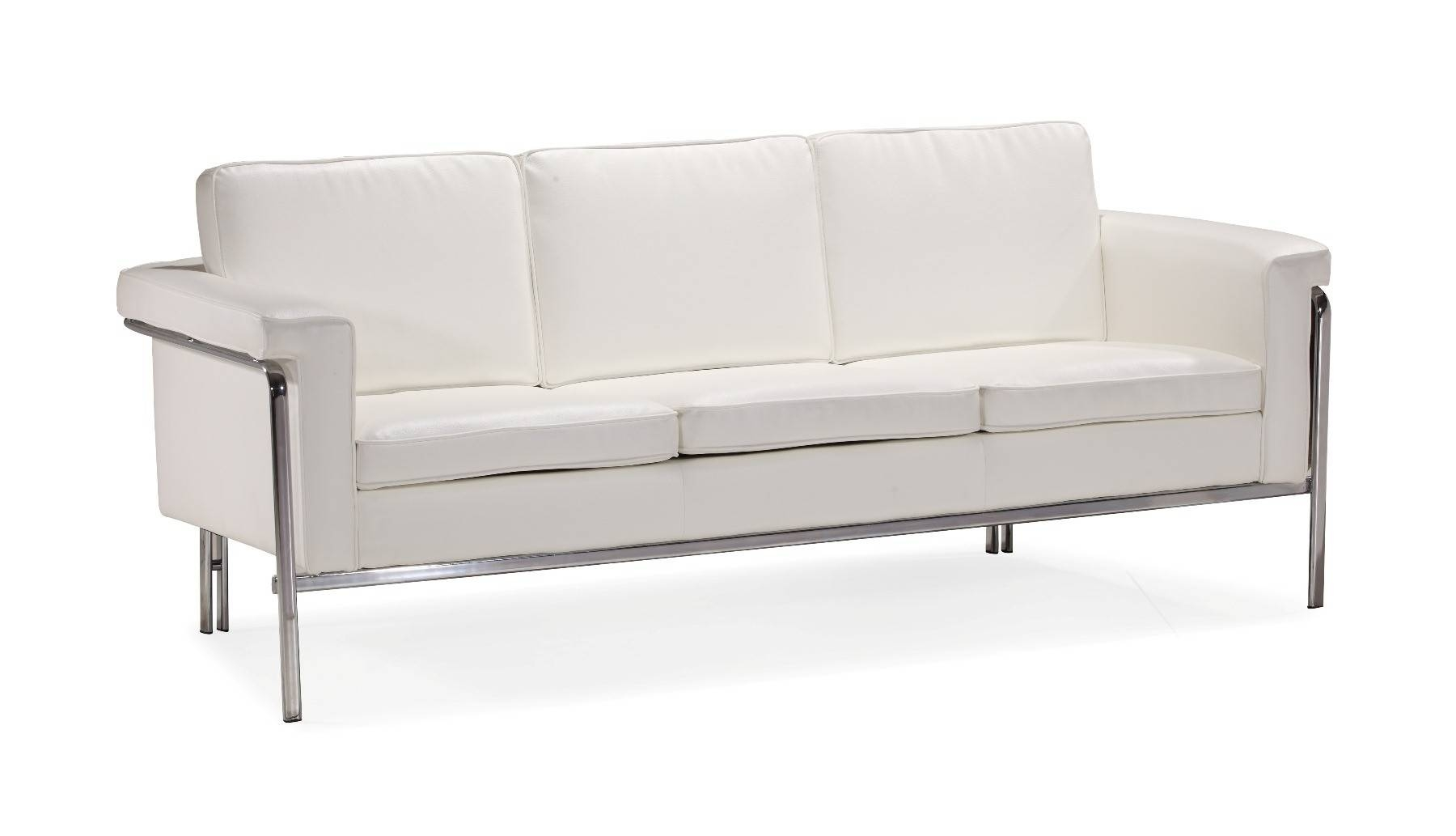 Featured Photo of Sofas With Chrome Legs