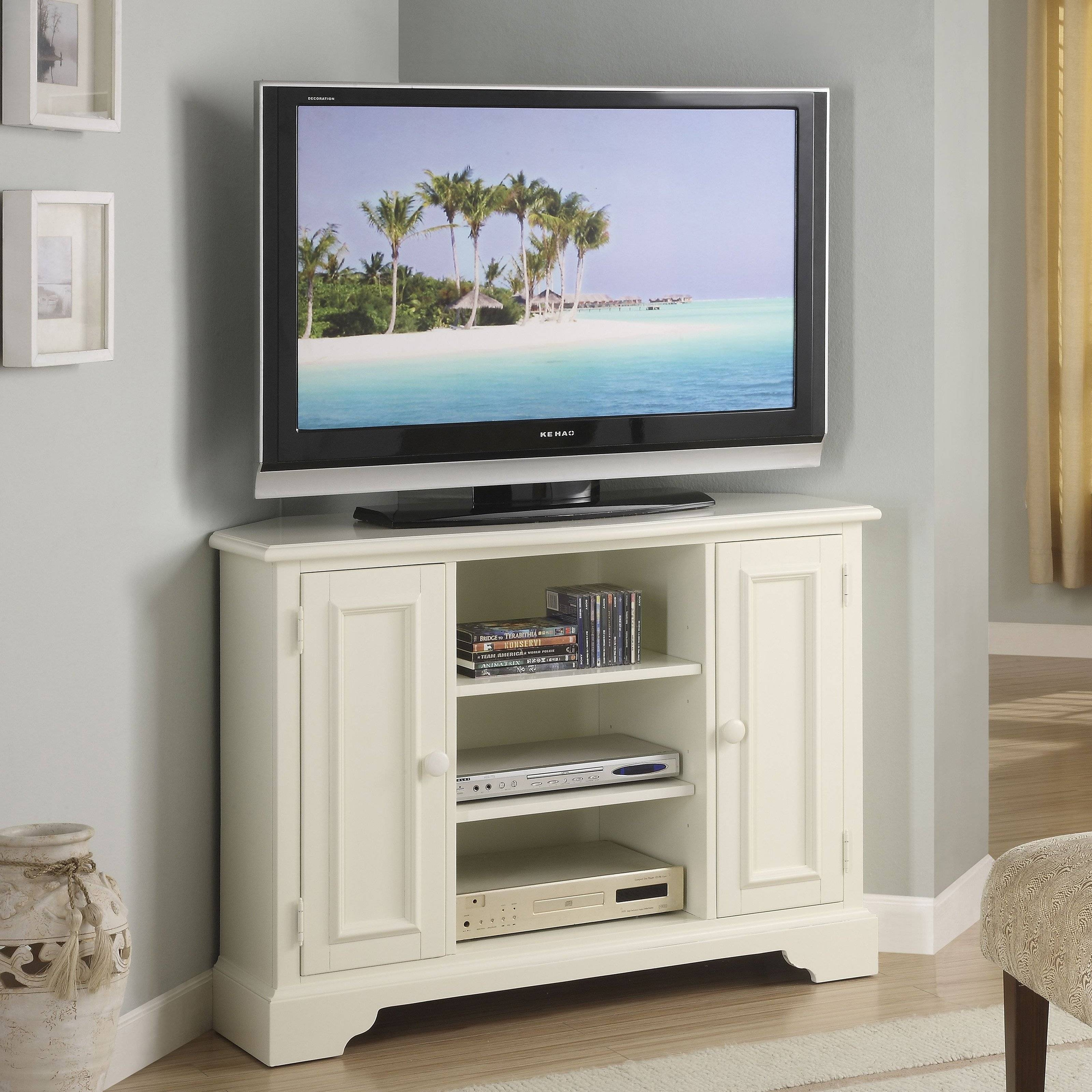 15 Best Ideas Of Corner Tv Cabinets For Flat Screens With Doors