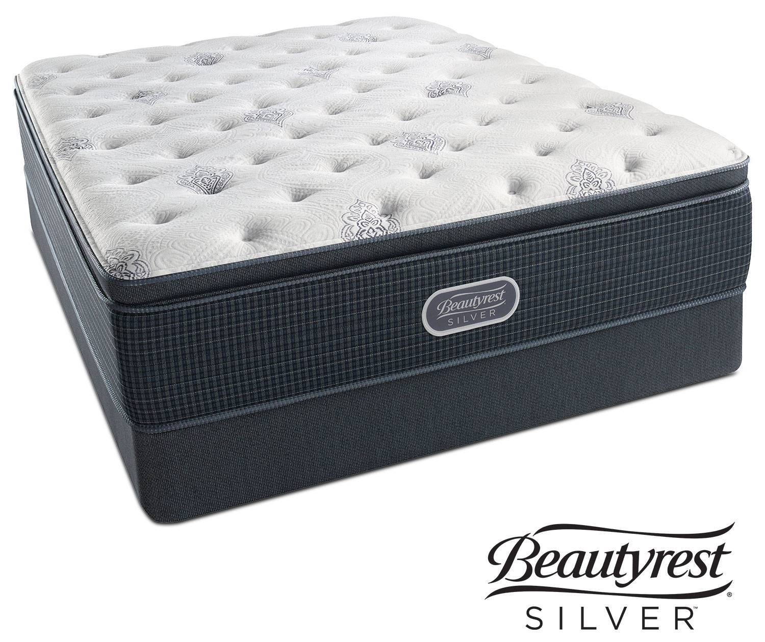 White River Plush Pillowtop Queen Mattress And Foundation Set with regard to Queen Mattress Sets (Image 15 of 15)
