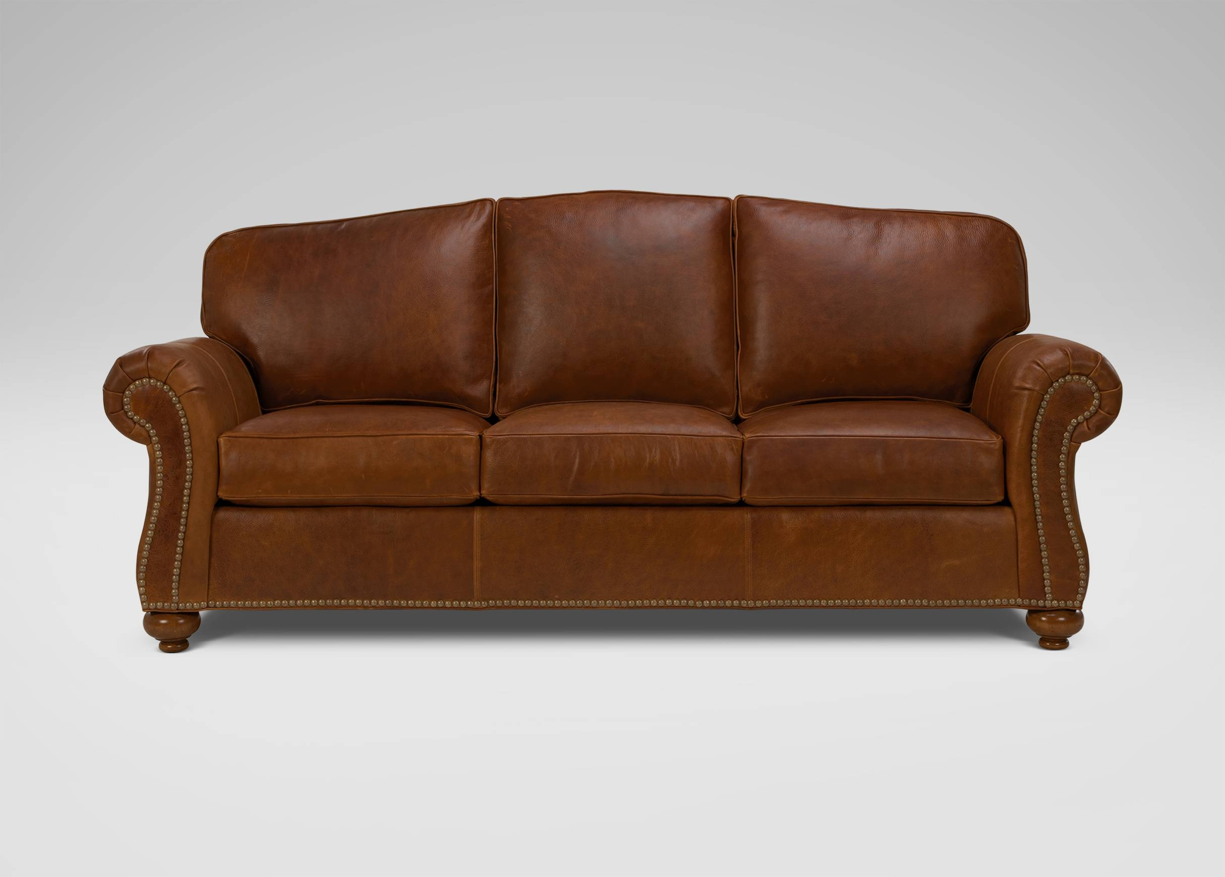 Whitney Leather Sofa | Sofas & Loveseats within Ethan Allen Whitney Sofas (Image 14 of 15)