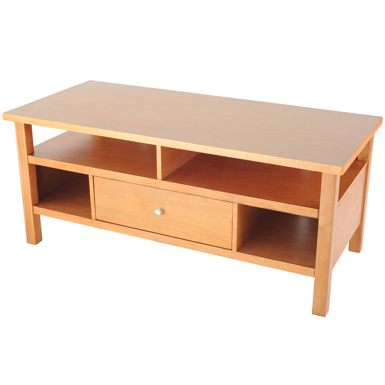 Wholesale / Bulk Dropshipper Flat Screen/tube Tv Stand With Drawer in Maple Wood Tv Stands (Image 15 of 15)