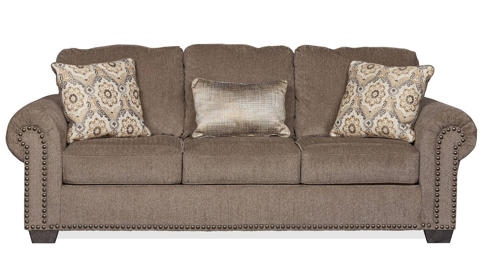 Wichita Falls Sleeper Sofa | Gallery Furniture with regard to Chenille Sleeper Sofas (Image 15 of 15)