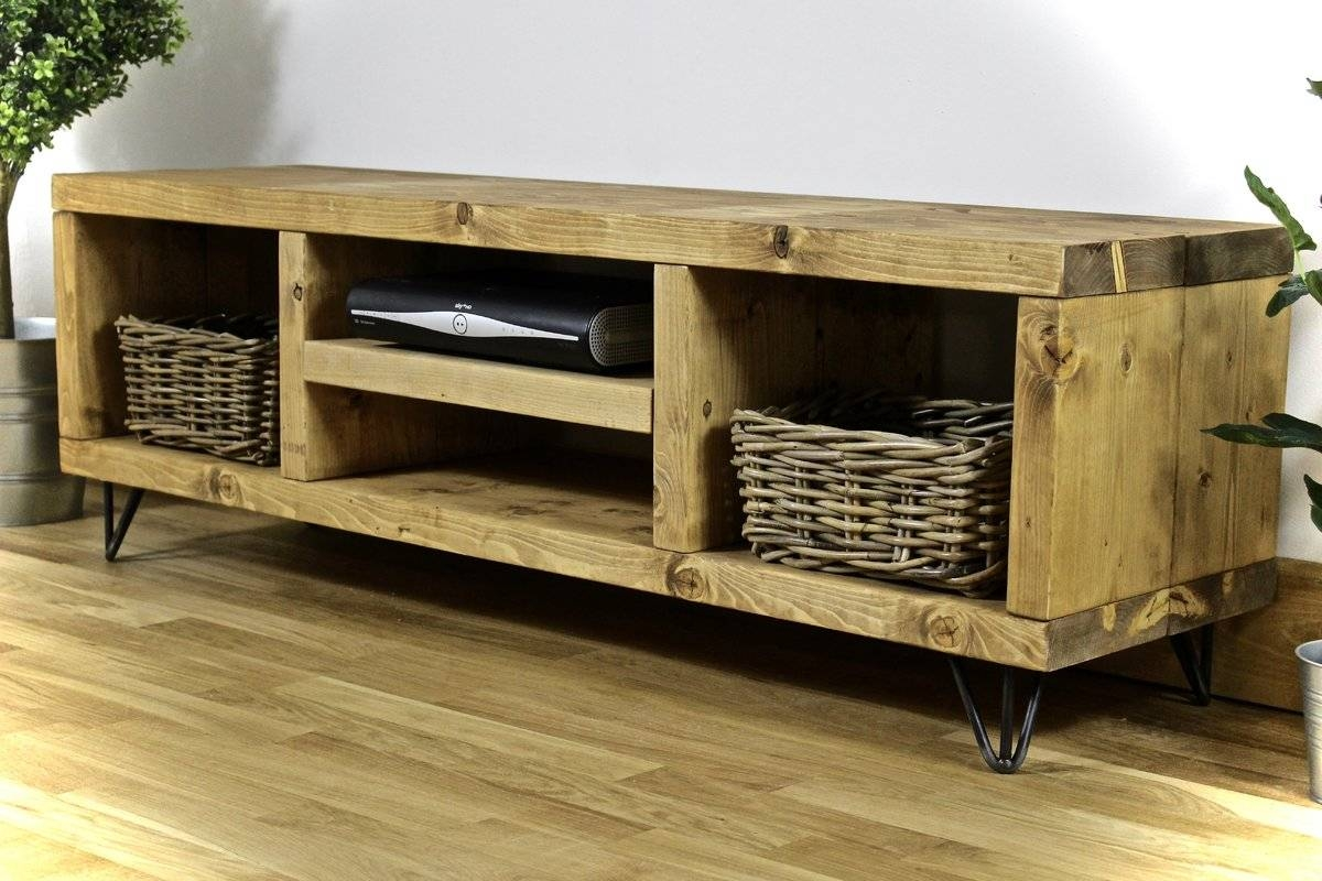 Williston Forge Didama Rustic Tv Stand & Reviews | Wayfair.co (View 13 of 15)