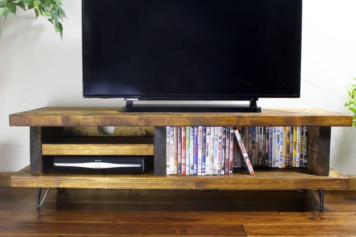 2018 latest rustic tv stands. Black Bedroom Furniture Sets. Home Design Ideas