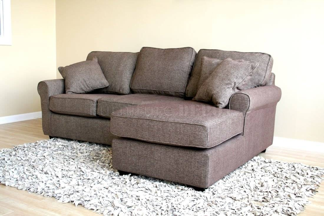 Wonderful Tiny Sectional Sofa 71 In Small Sectional Sofa With Intended For Small Sofas With Chaise Lounge (Photo 15 of 15)