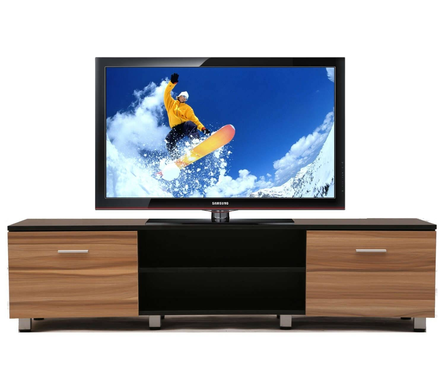 Wooden Samba Tv Unit Stand Cabinet | Furniturebox Throughout Wooden Tv Stands (View 8 of 15)