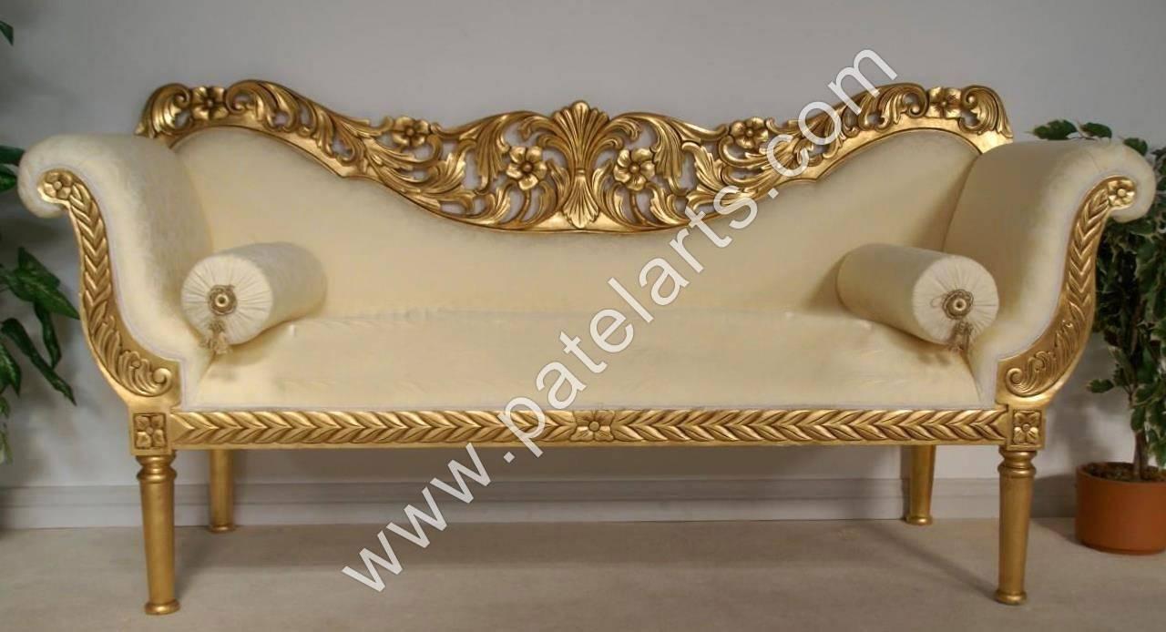 Wooden Sofa Sets, Indian Carved Sofa Sets, Carving Wooden Sofa with regard to Carved Wood Sofas (Image 15 of 15)