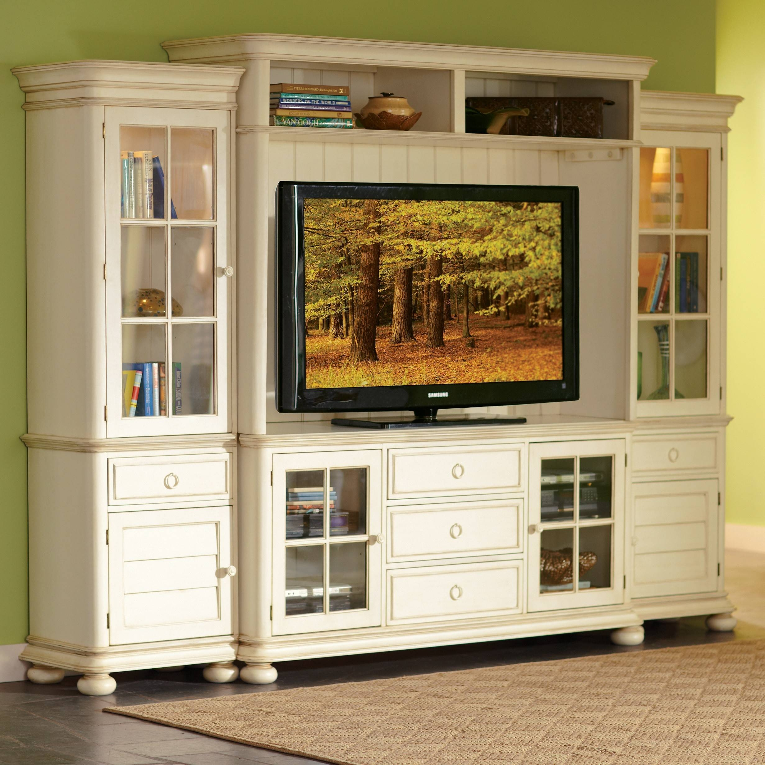 Wooden Tv Cabinets With Doors 42 With Wooden Tv Cabinets With throughout Wooden Tv Cabinets With Glass Doors (Image 15 of 15)