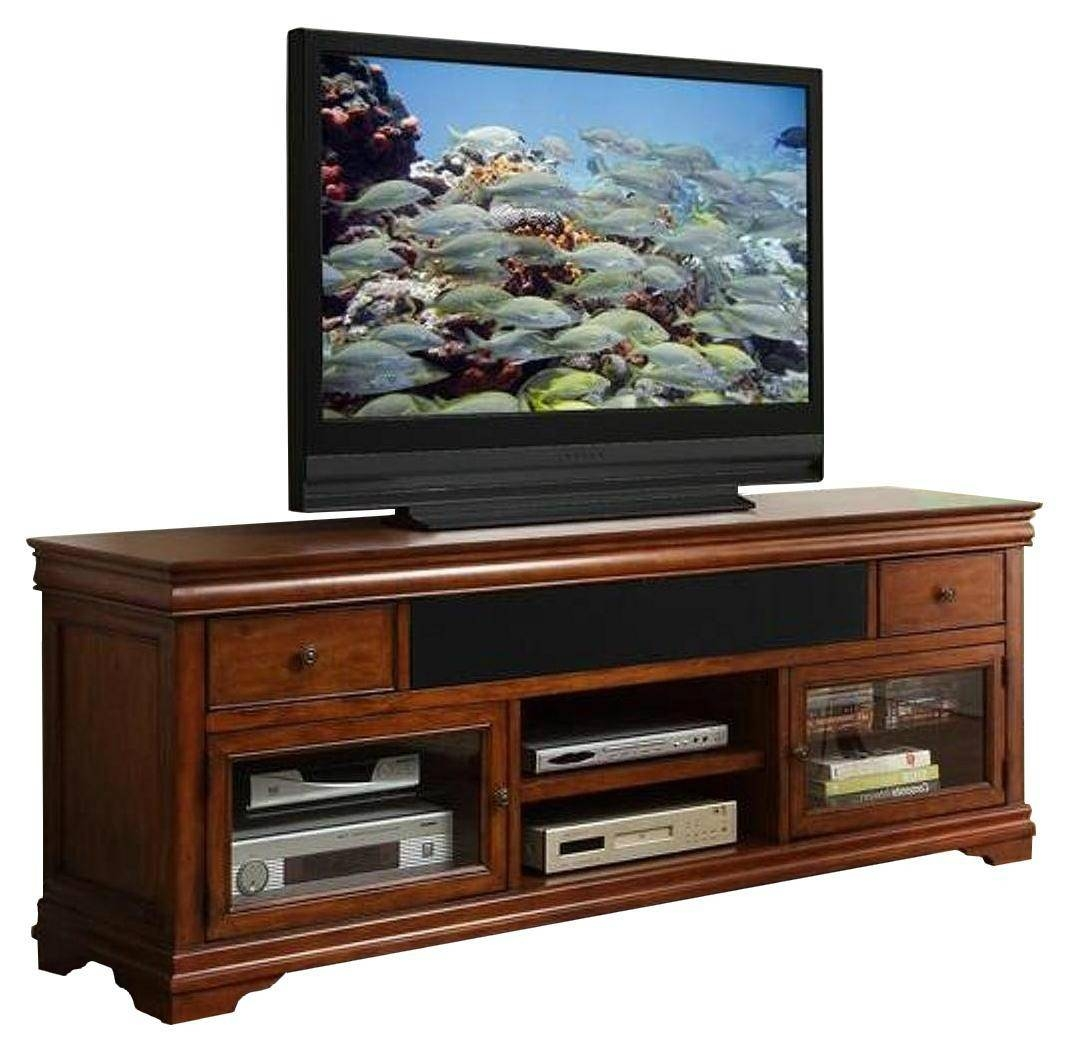 Wooden Vintage Cherry Wood Long Tv Stand 70 Inch - Wd-3935 in Cherry Wood Tv Stands (Image 15 of 15)